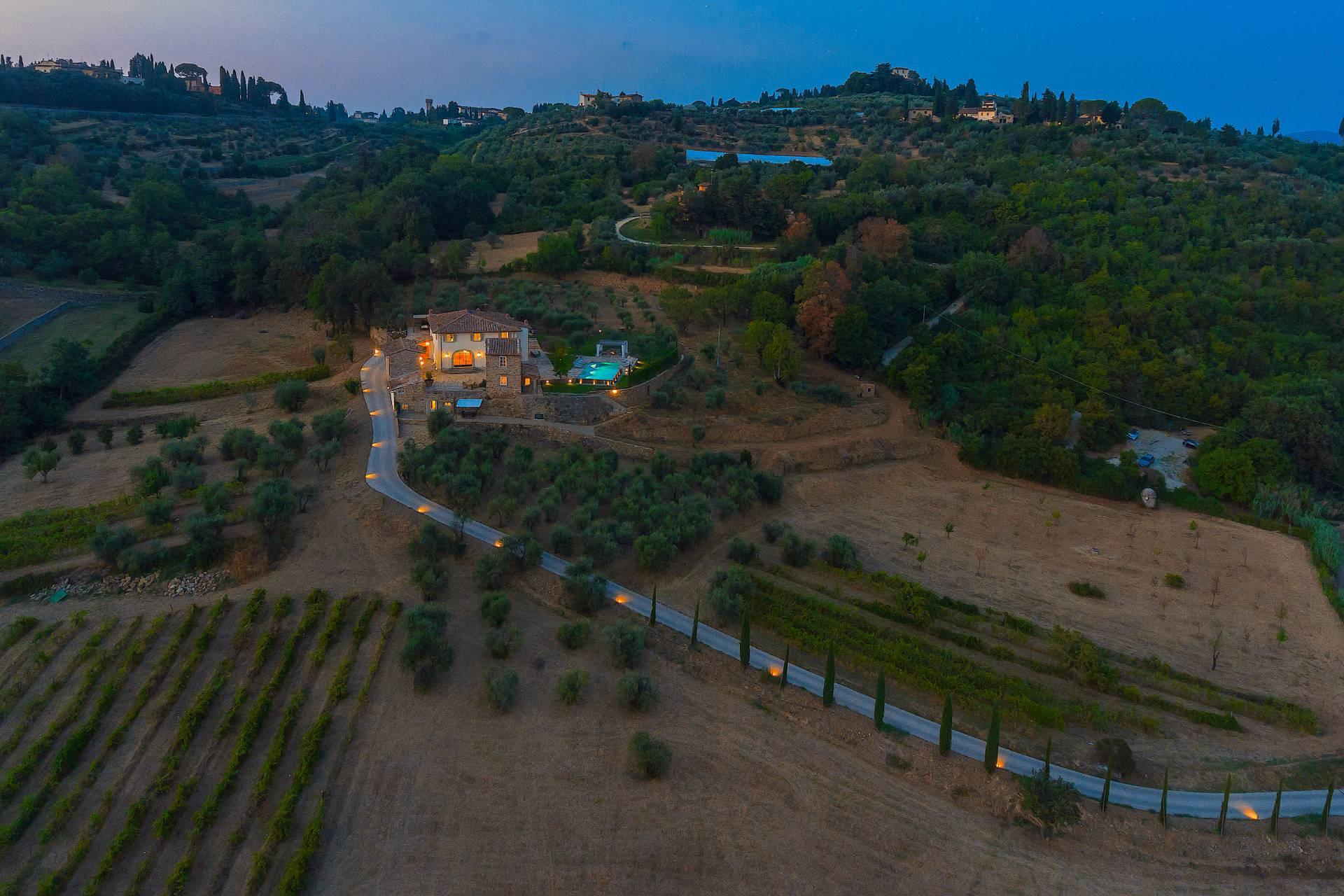 Villa in Vendita a Firenze via di s. matteo in arcetri