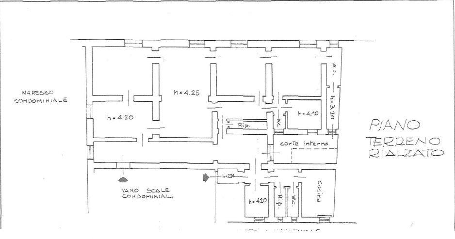 Appartamento in Vendita a Firenze: 5 locali, 275 mq - Foto 16