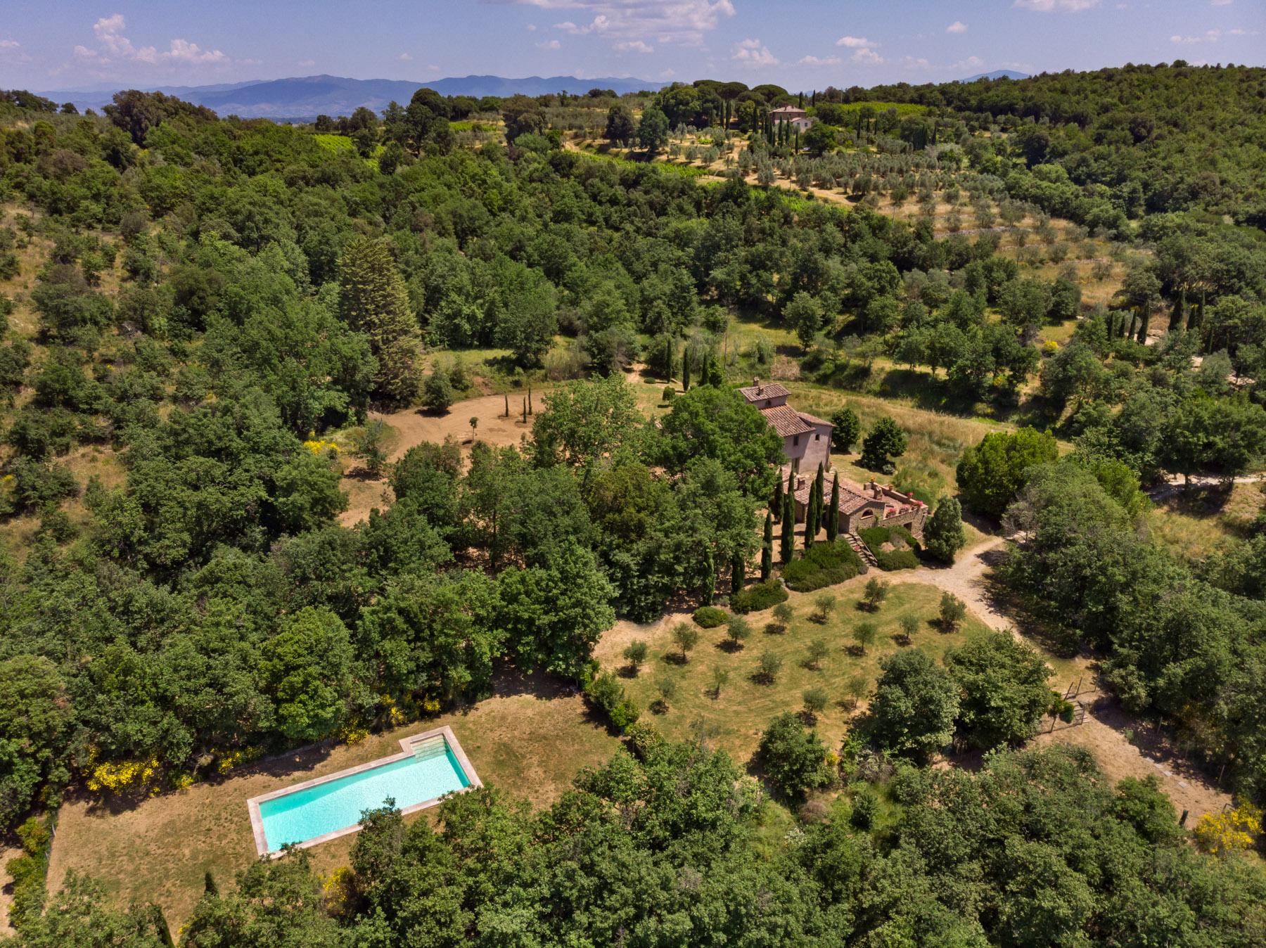 Villa in Vendita a Monte San Savino: 5 locali, 340 mq - Foto 12