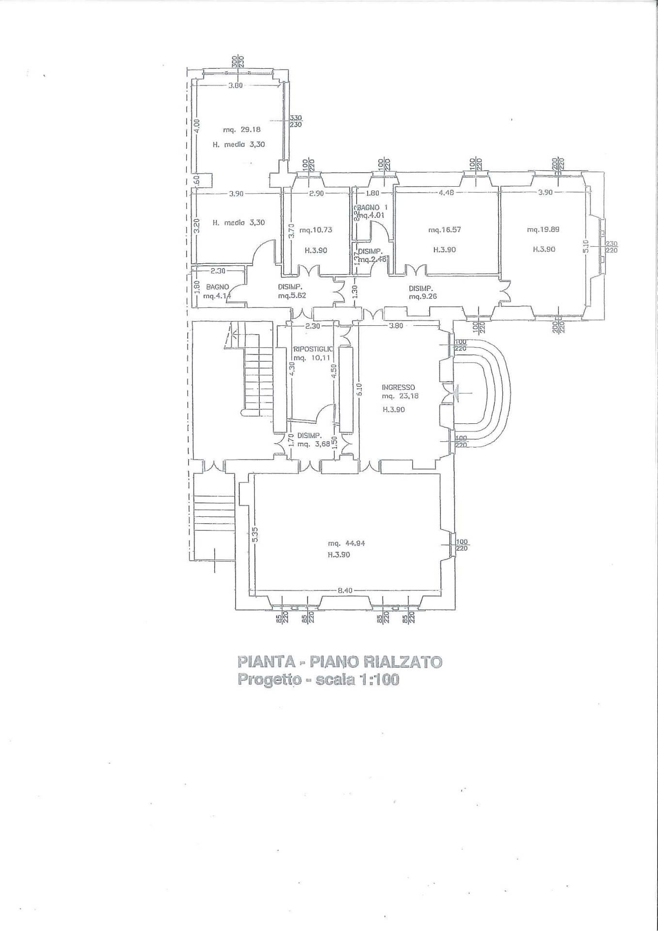 Appartamento in Vendita a Como: 5 locali, 230 mq - Foto 13