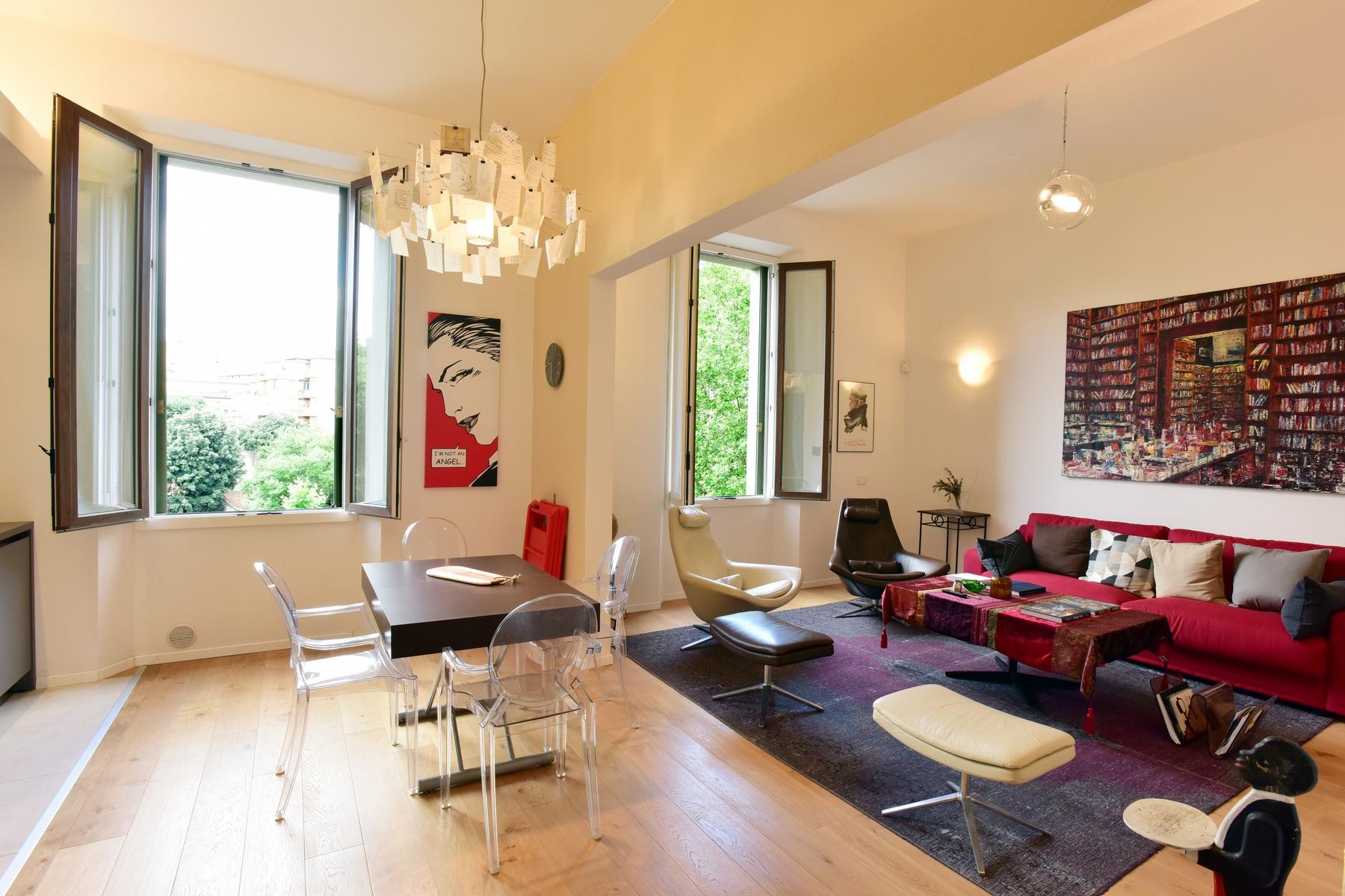 Appartamento in Affitto a Firenze Semicentro Est: 4 locali, 145 mq
