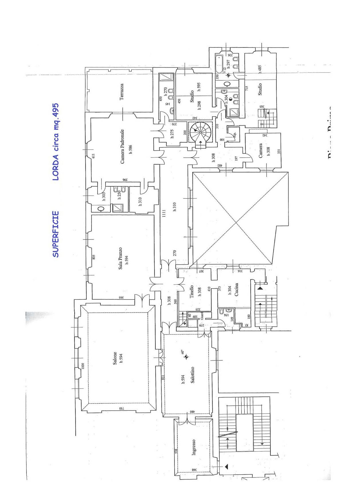 Appartamento in Vendita a Firenze: 5 locali, 680 mq - Foto 28