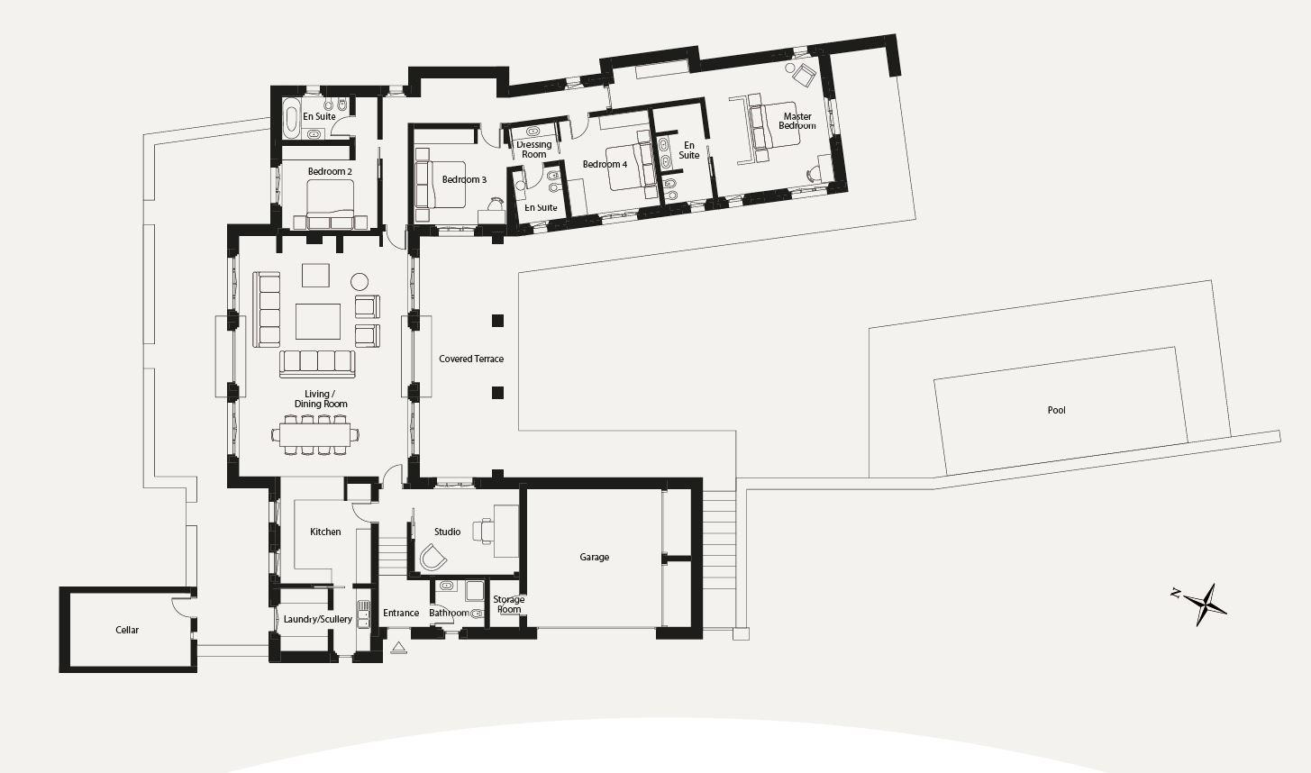 Villa in Vendita a Montaione: 5 locali, 360 mq - Foto 20