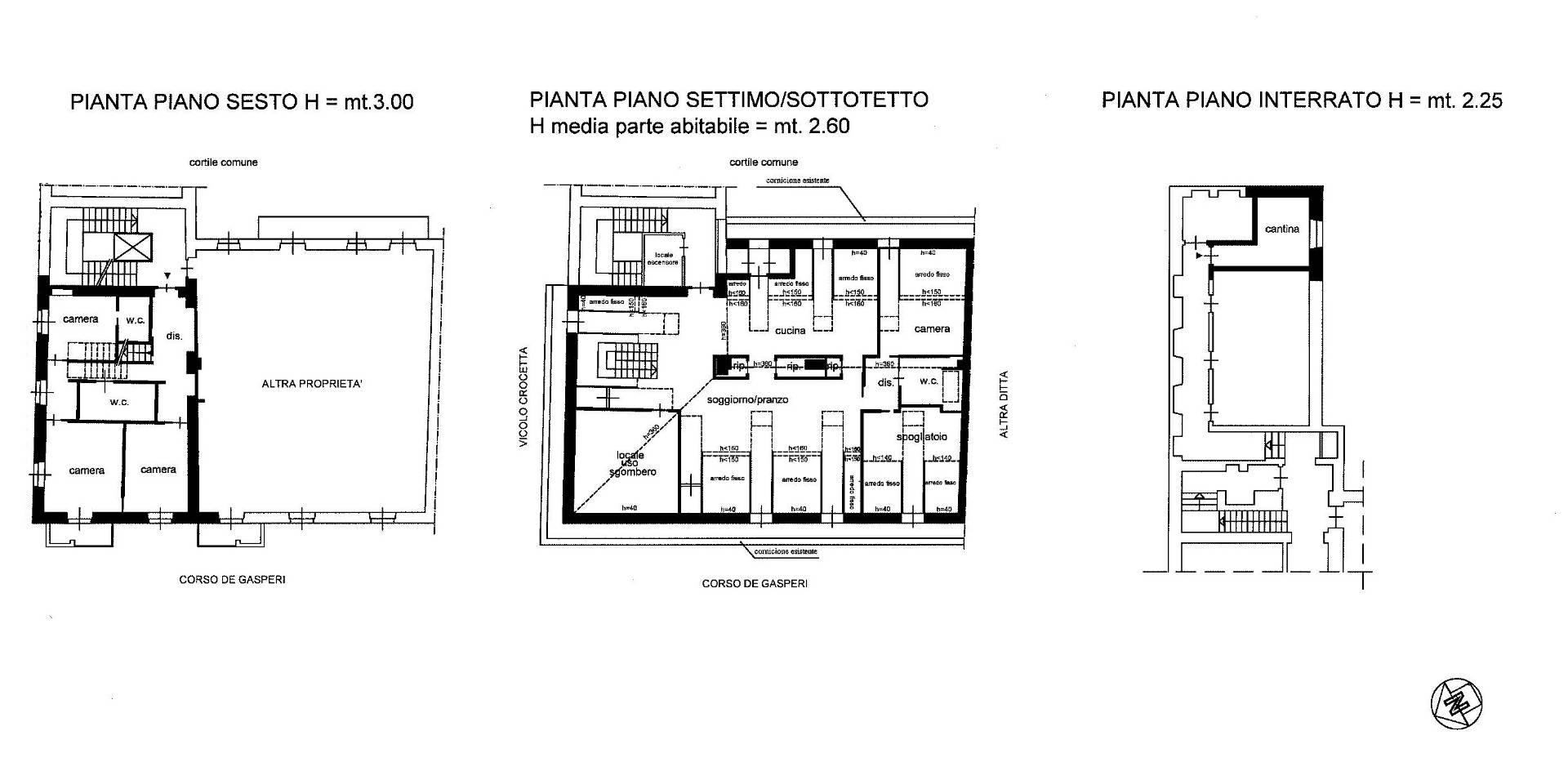 Attico in Vendita a Torino: 5 locali, 250 mq - Foto 30