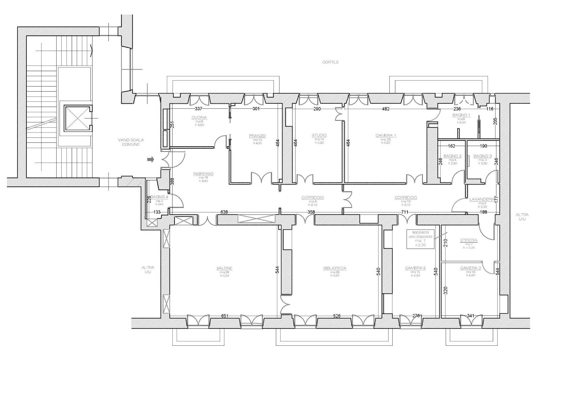 Appartamento in Vendita a Torino: 5 locali, 304 mq - Foto 22