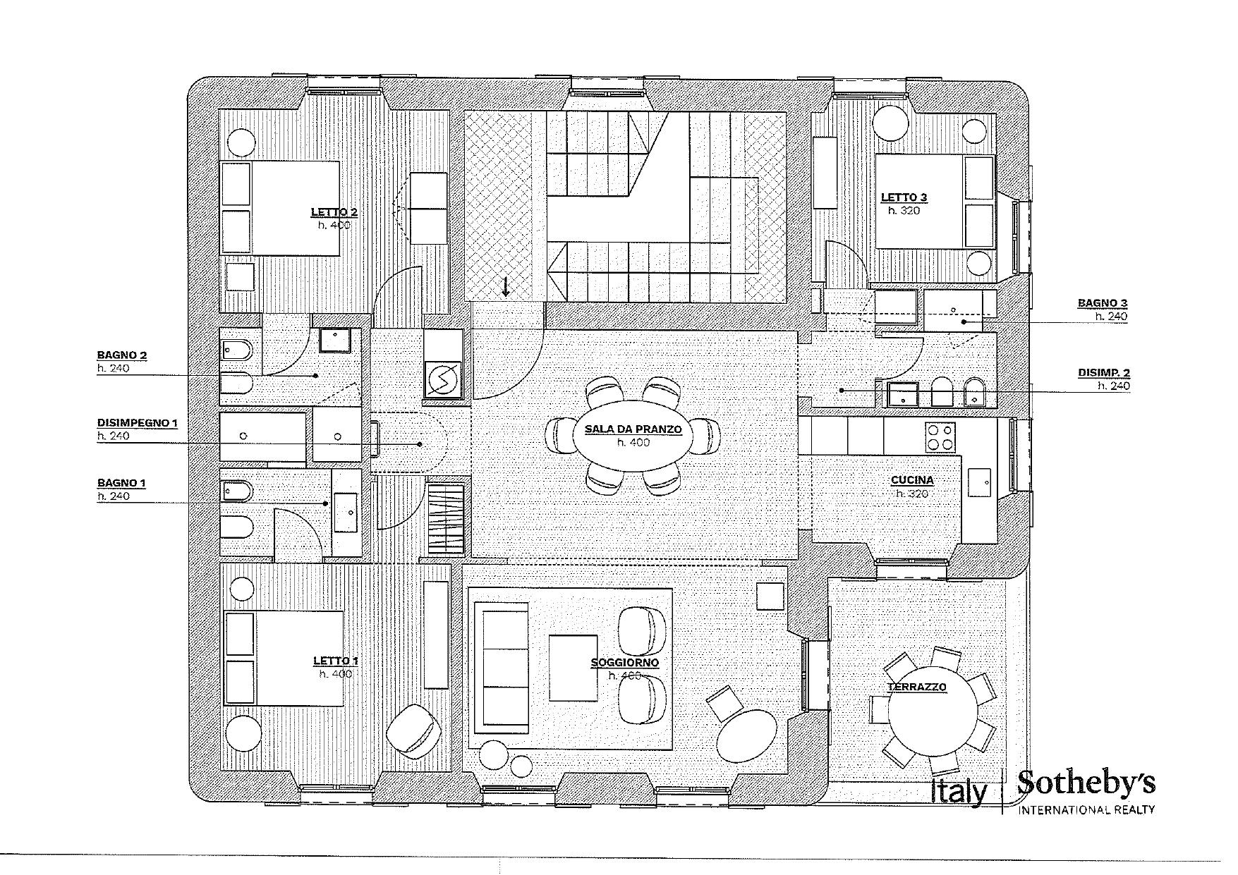 Appartamento in Vendita a Santa Margherita Ligure: 5 locali, 150 mq - Foto 24