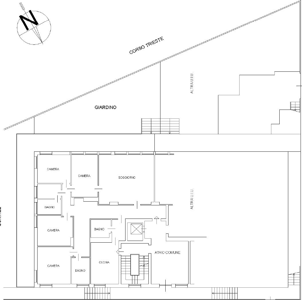 Appartamento in Vendita a Torino: 5 locali, 221 mq - Foto 22