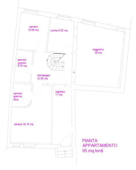 Appartamento in Vendita a Lucca: 5 locali, 190 mq - Foto 21