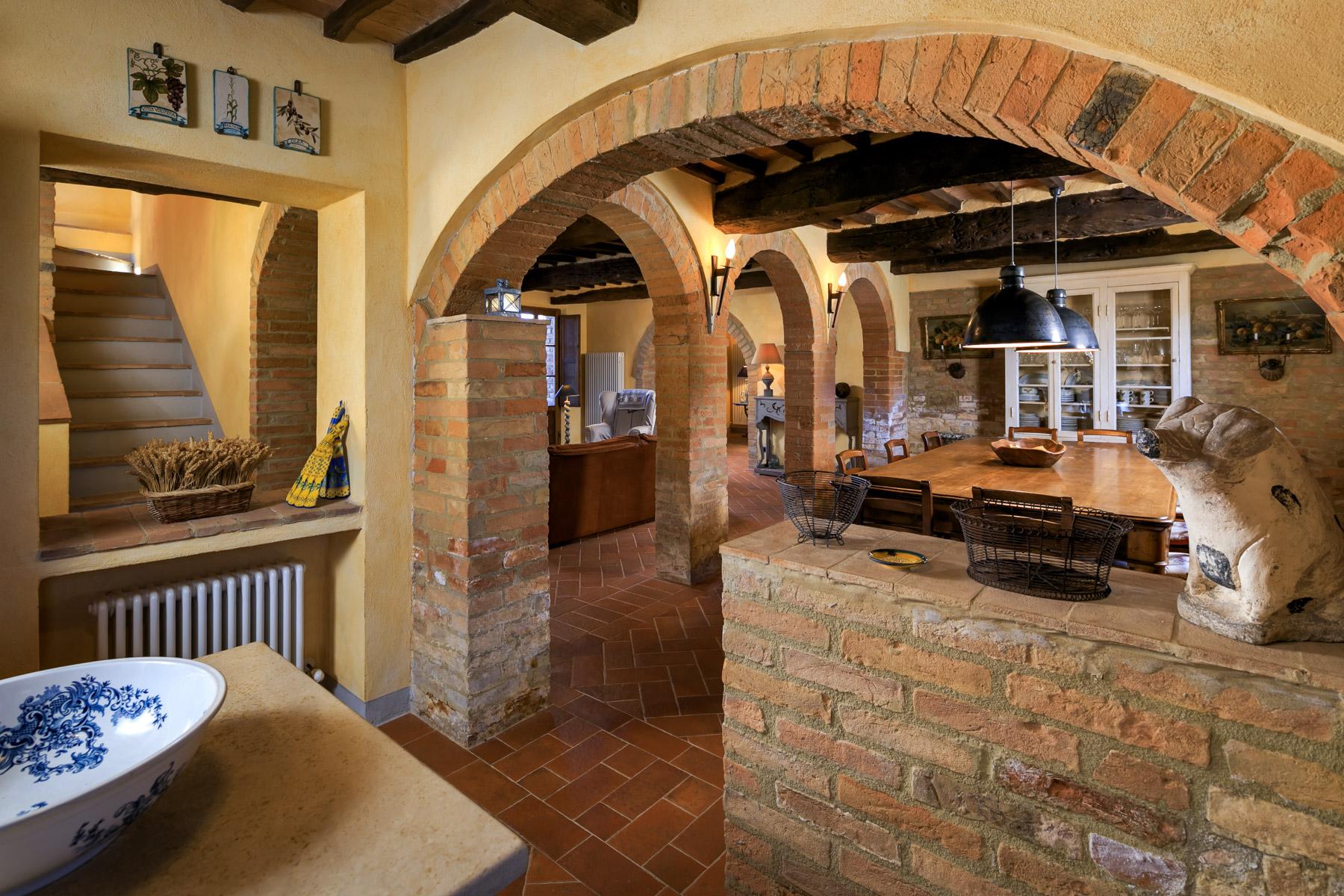 Villa in Vendita a Asciano: 5 locali, 430 mq - Foto 13