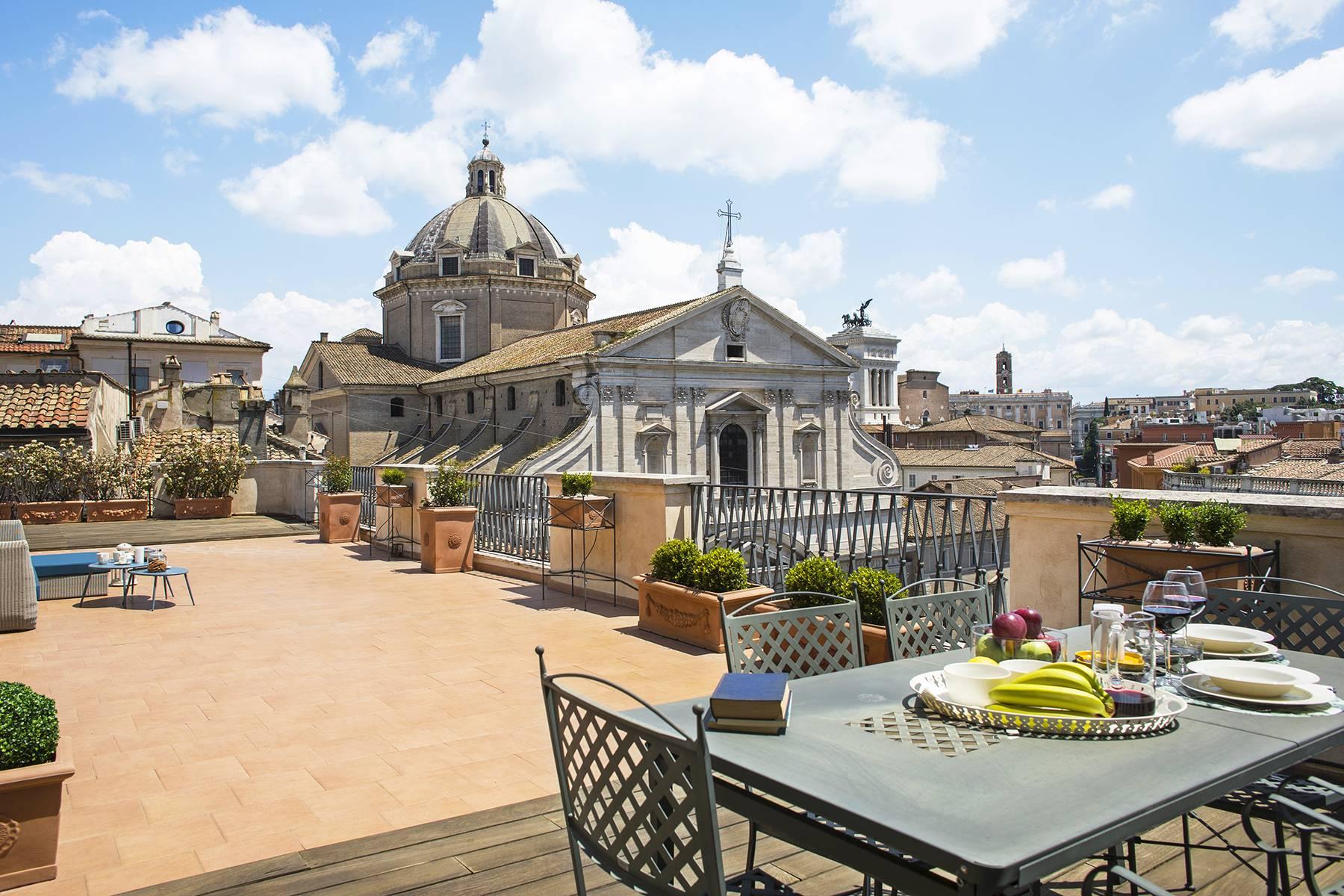 Attico in Affitto a Roma 01 Centro Storico: 3 locali, 100 mq