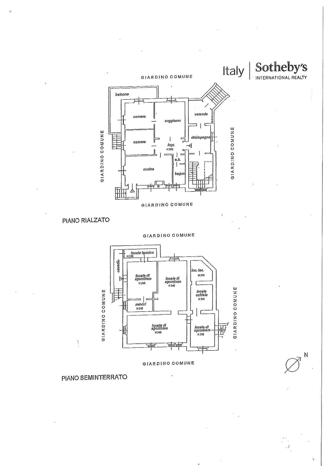 Villa in Affitto a Porto Valtravaglia: 5 locali, 400 mq - Foto 1