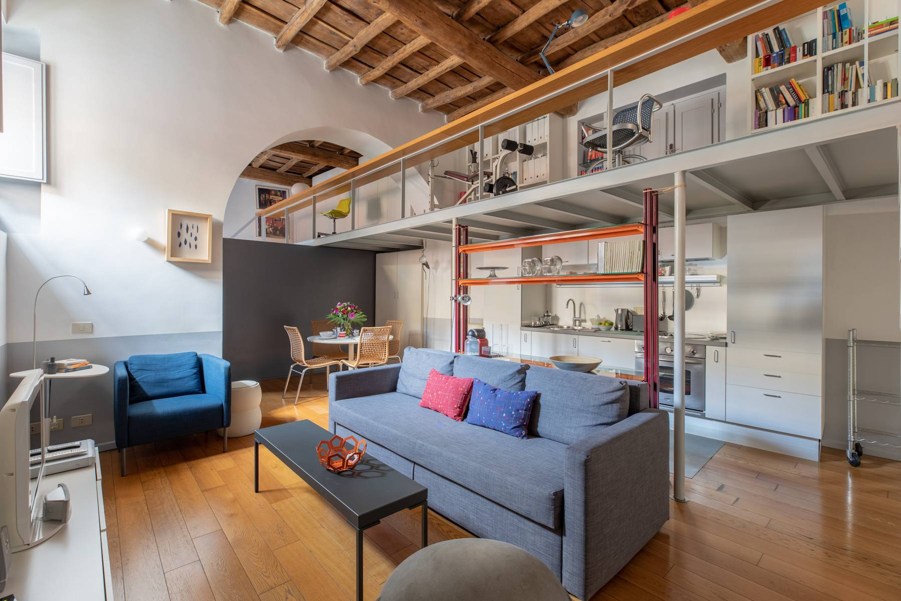 Appartamento in Affitto a Roma 28 Trastevere / Testaccio: 1 locali, 65 mq