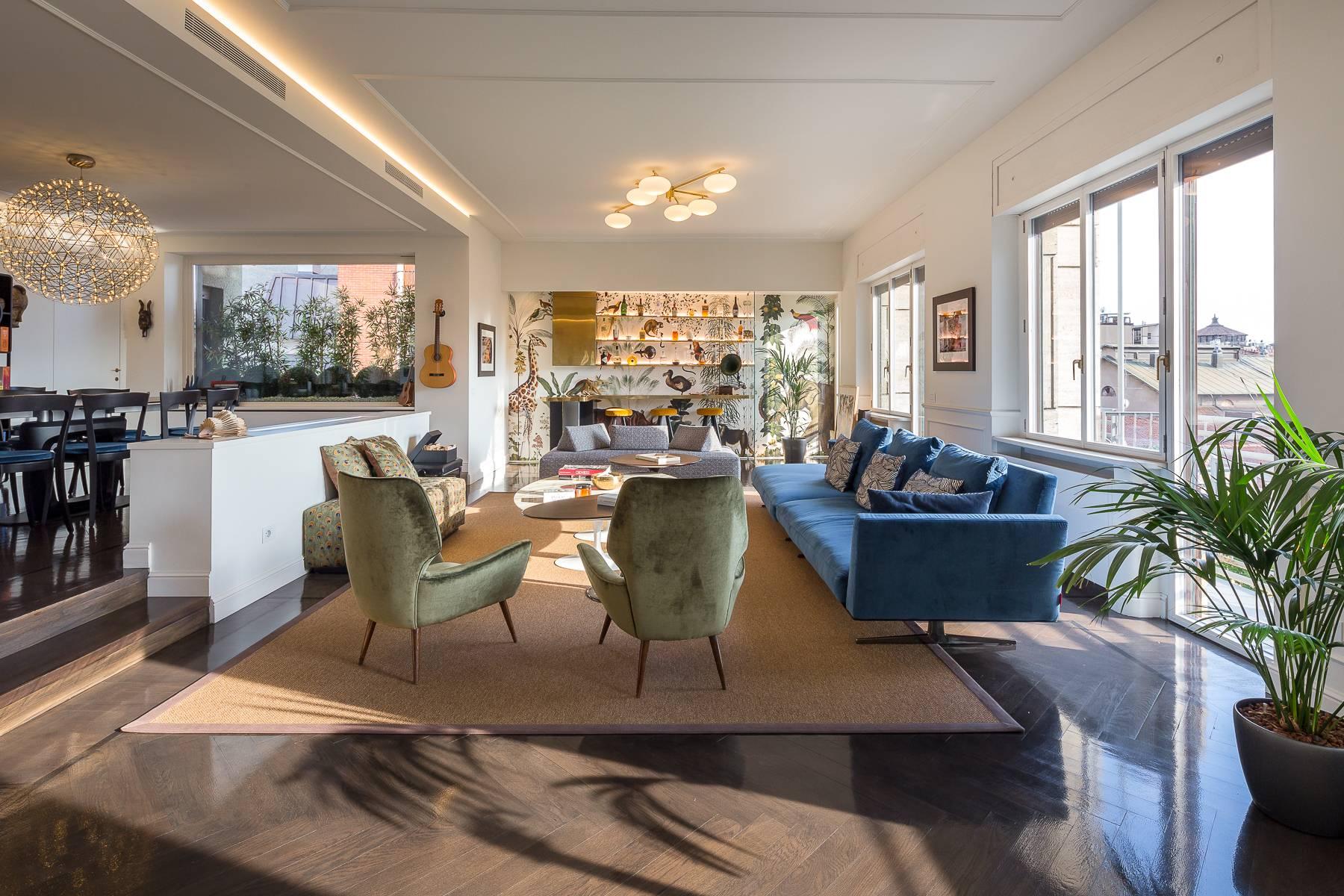 Appartamento in Vendita a Milano 02 Brera / Volta / Repubblica: 4 locali, 190 mq