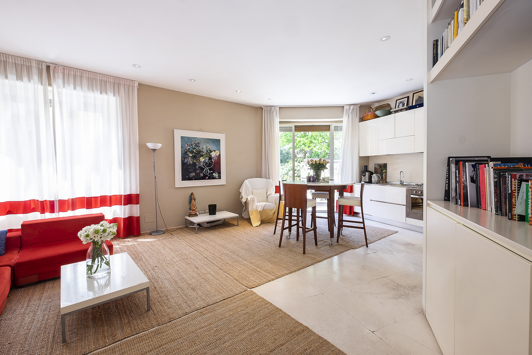 Appartamento in Affitto a Roma 28 Trastevere / Testaccio: 4 locali, 80 mq