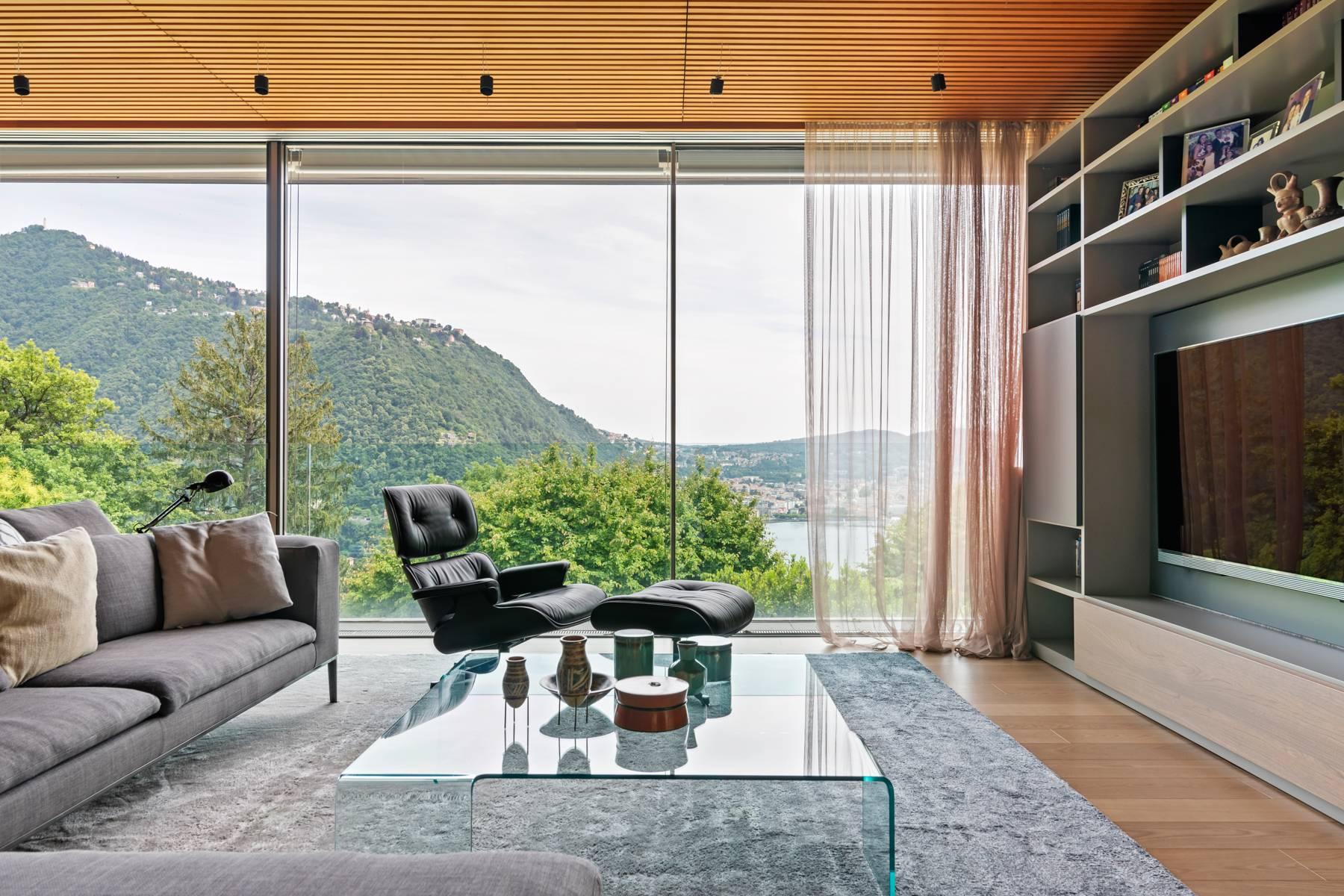 Villa in Vendita a Como via panoramica san pietro