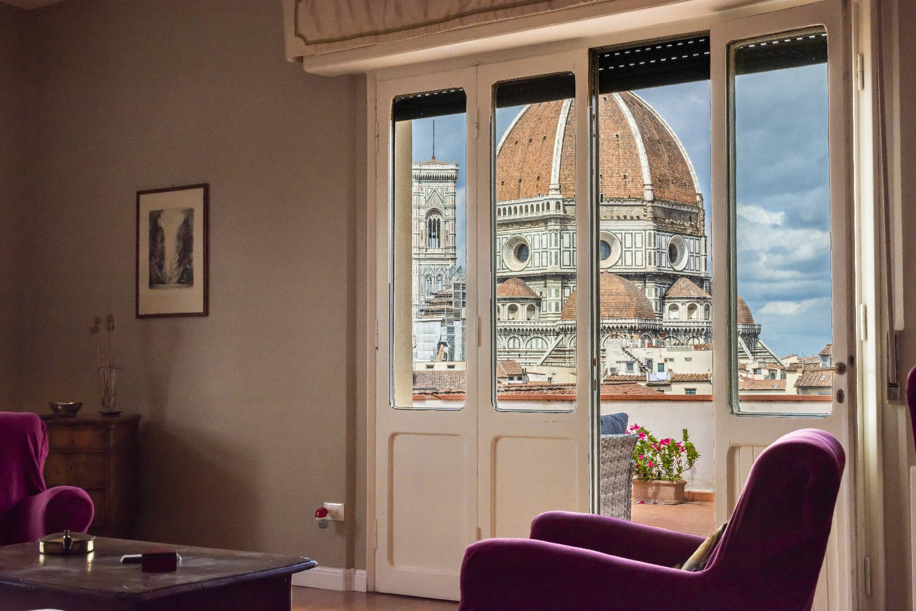 Attico in Affitto a Firenze Centro: 5 locali, 193 mq