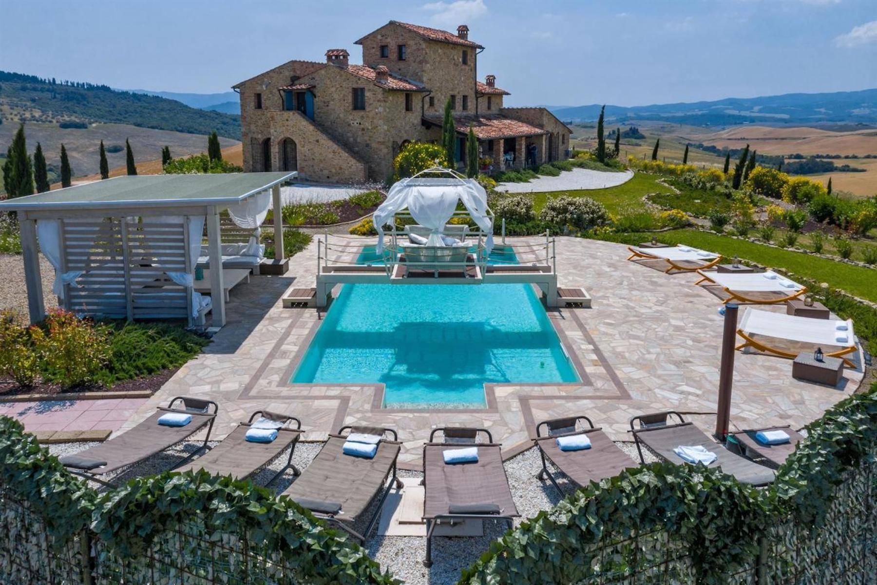 Villa in Vendita a Volterra: 5 locali, 450 mq - Foto 24