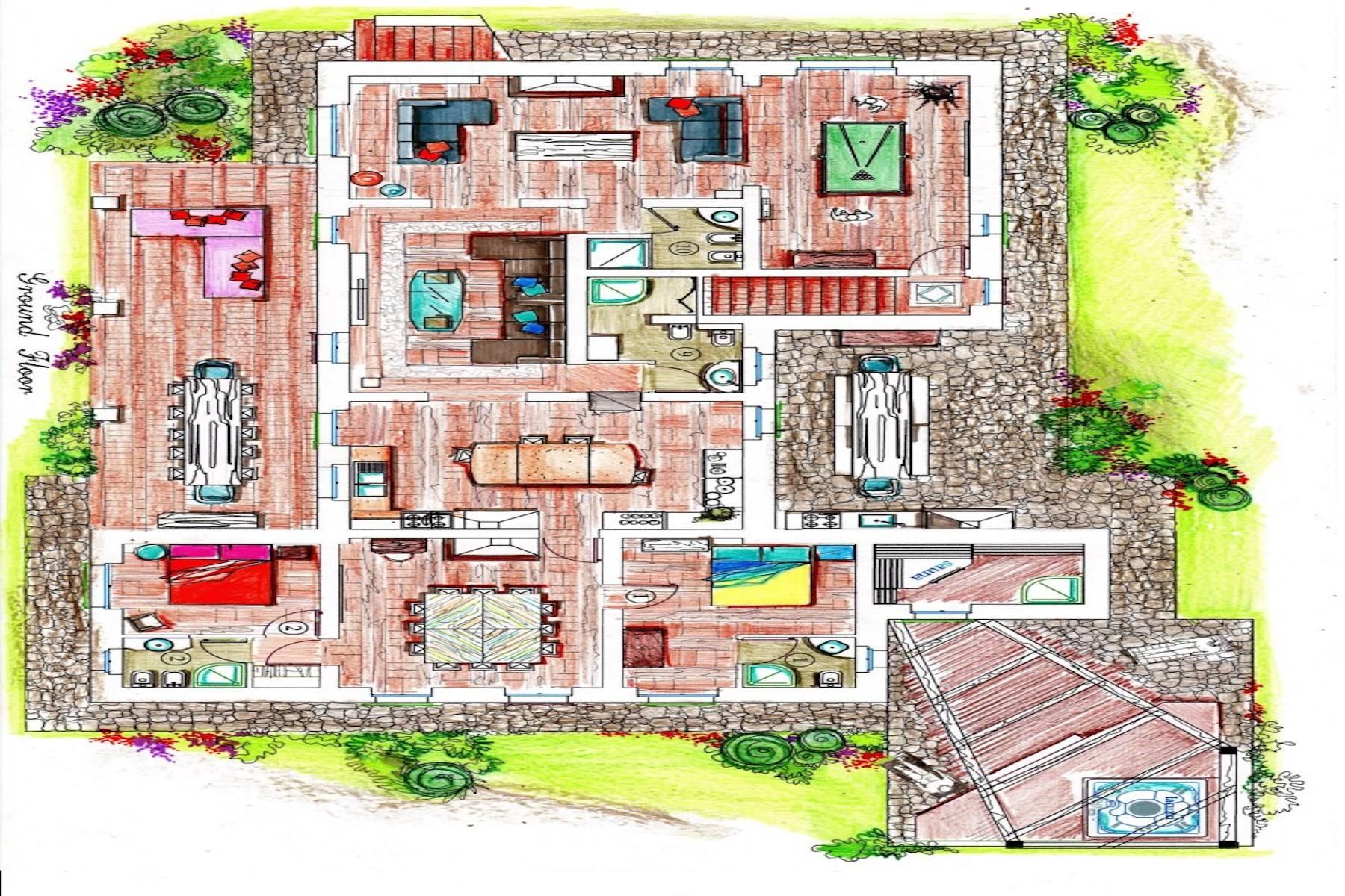 Villa in Vendita a Volterra: 5 locali, 450 mq - Foto 28