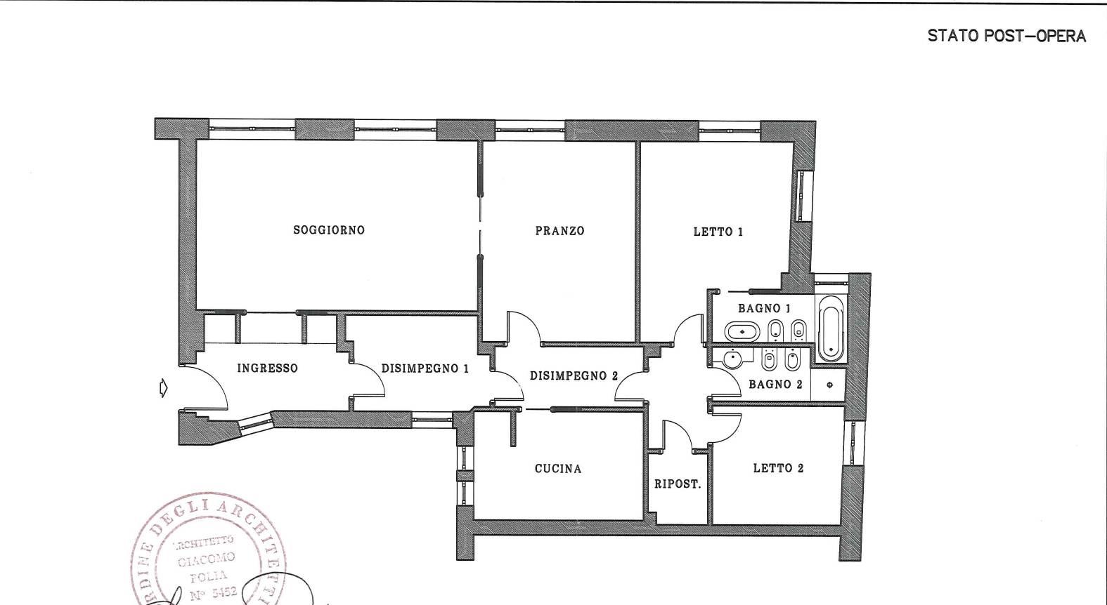 Appartamento in Vendita a Roma: 5 locali, 145 mq - Foto 23