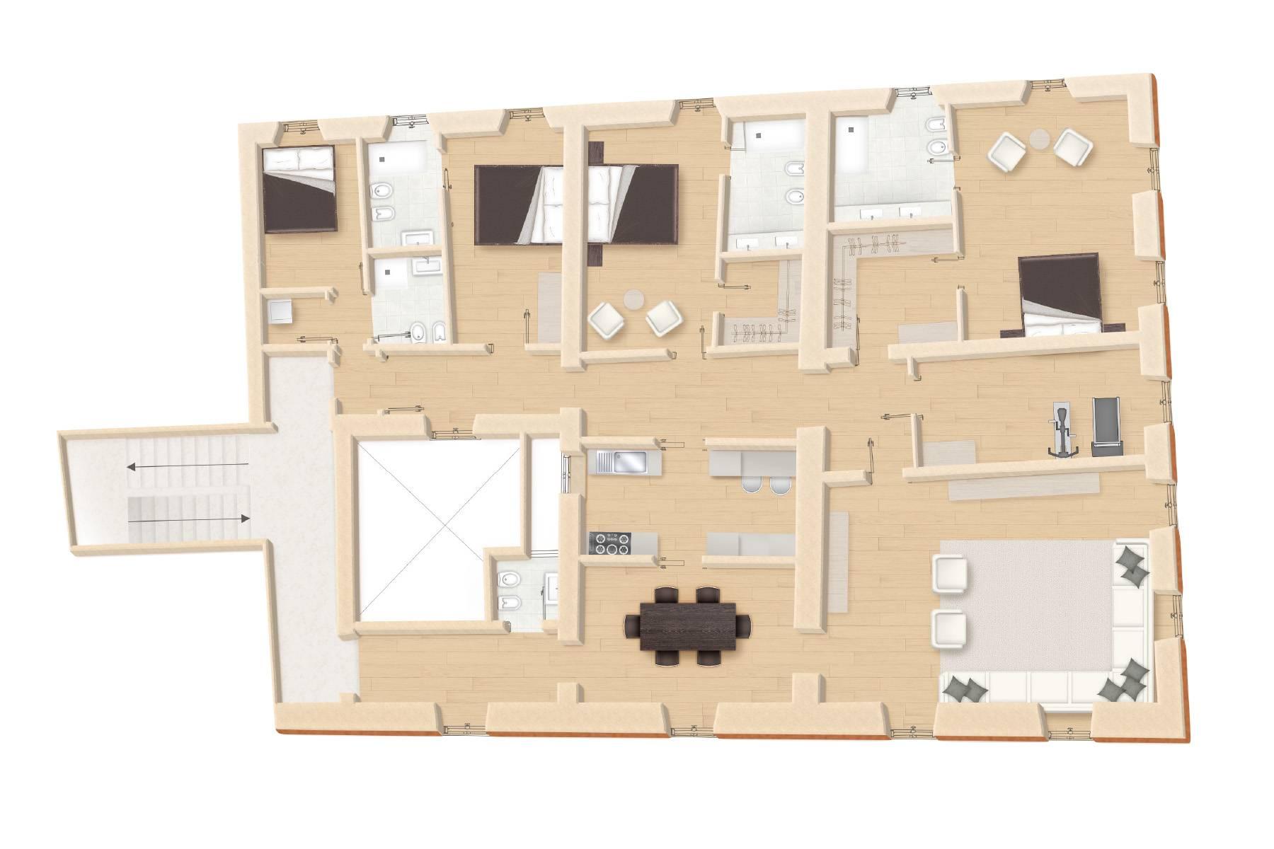Appartamento in Vendita a Roma: 5 locali, 297 mq - Foto 12