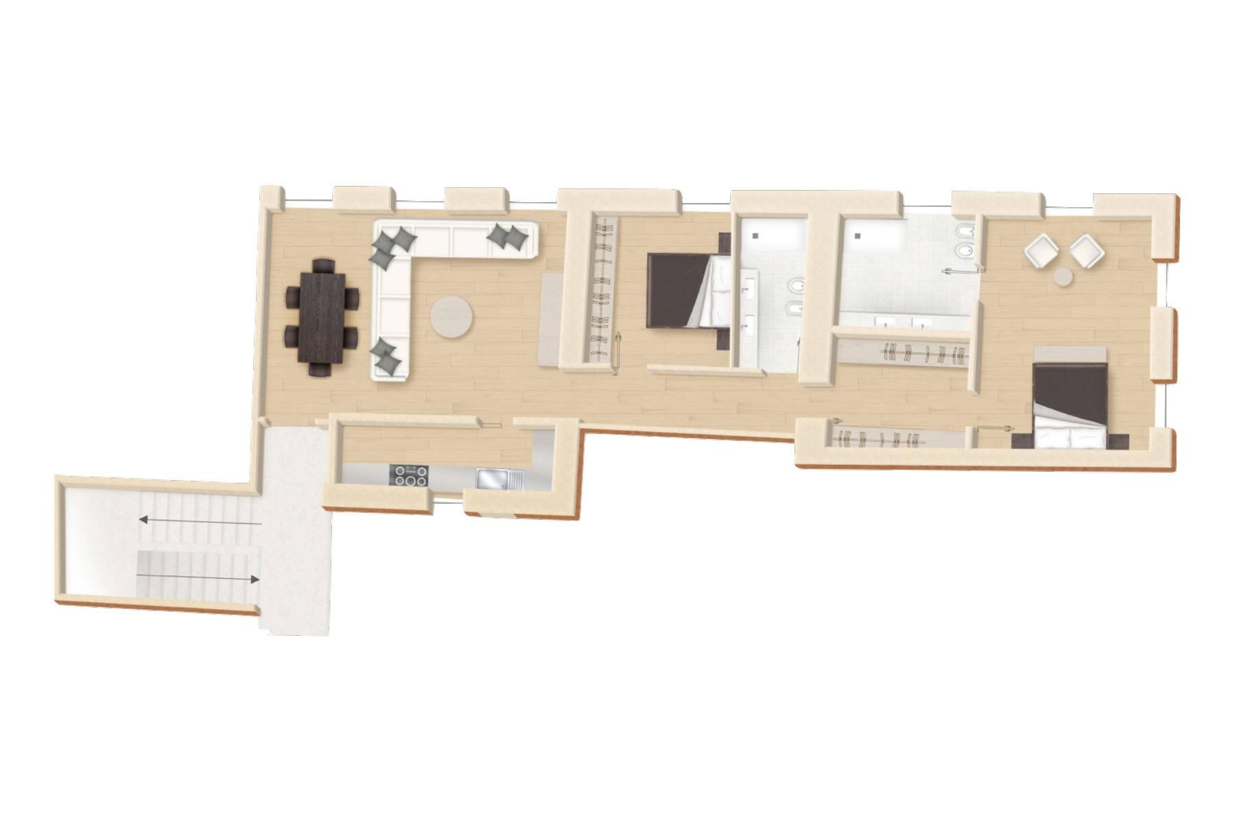 Appartamento in Vendita a Roma: 4 locali, 145 mq - Foto 12