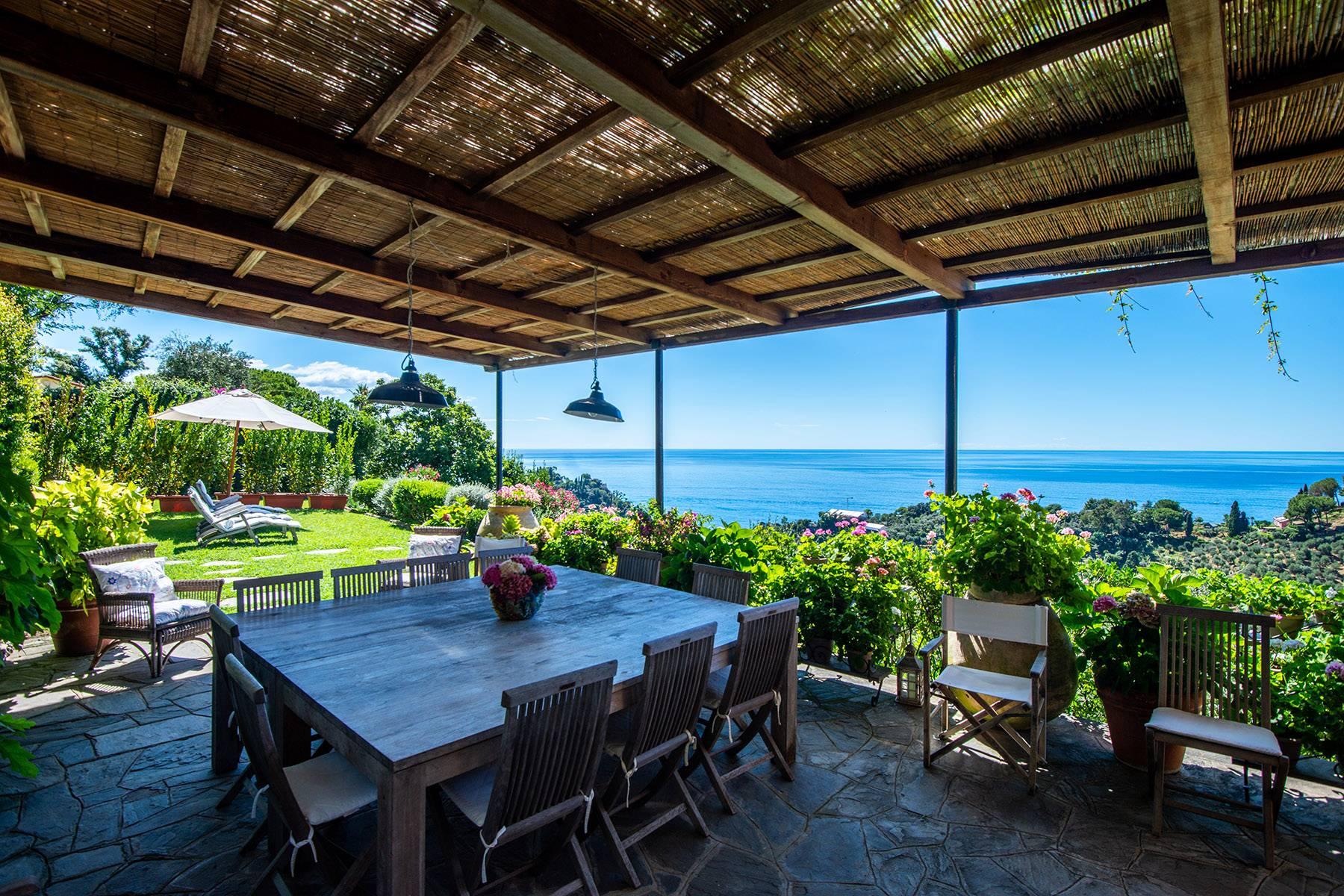 Villa in Vendita a Portofino strada portofino ruta