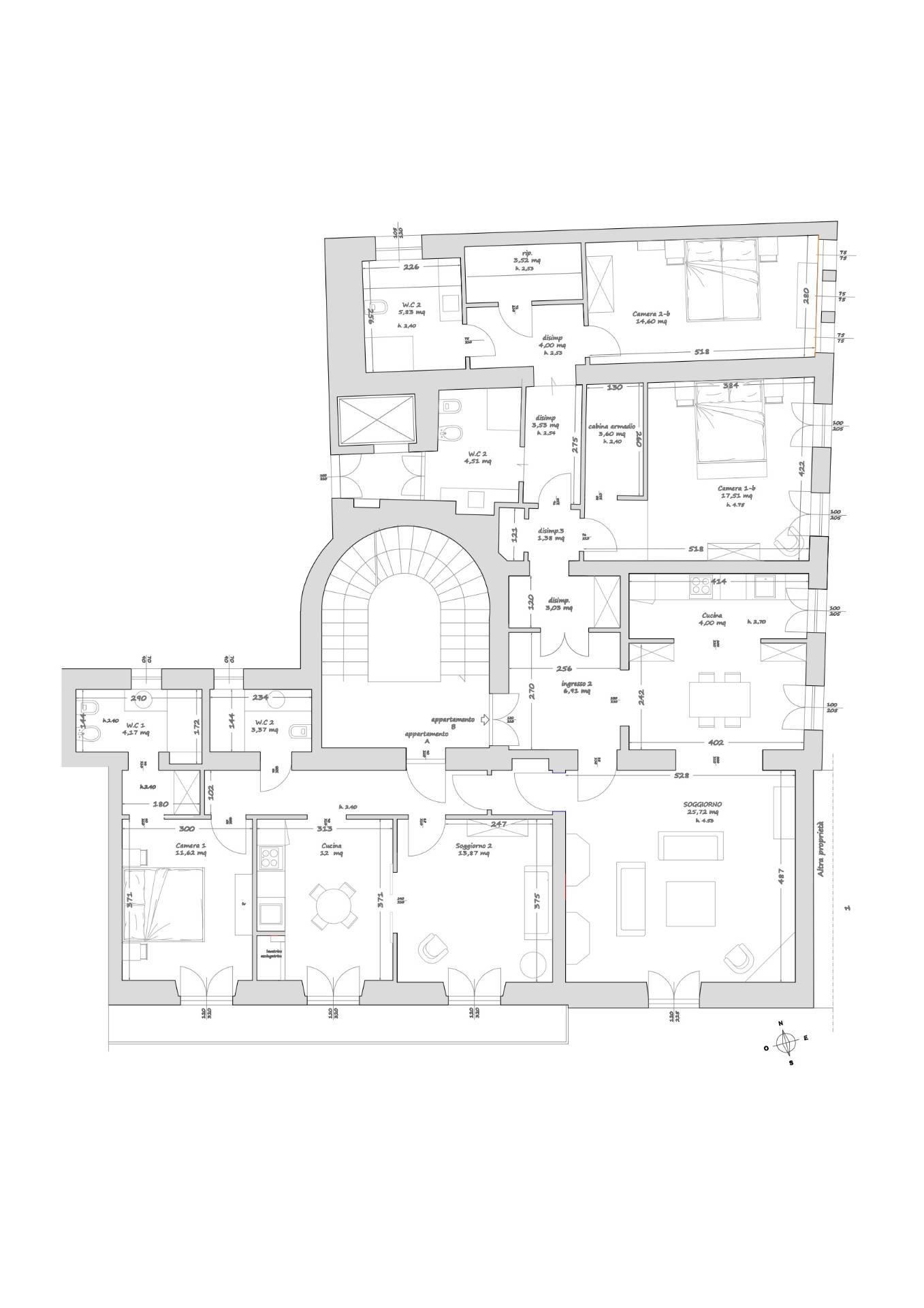Appartamento in Affitto a Firenze: 5 locali, 195 mq - Foto 19