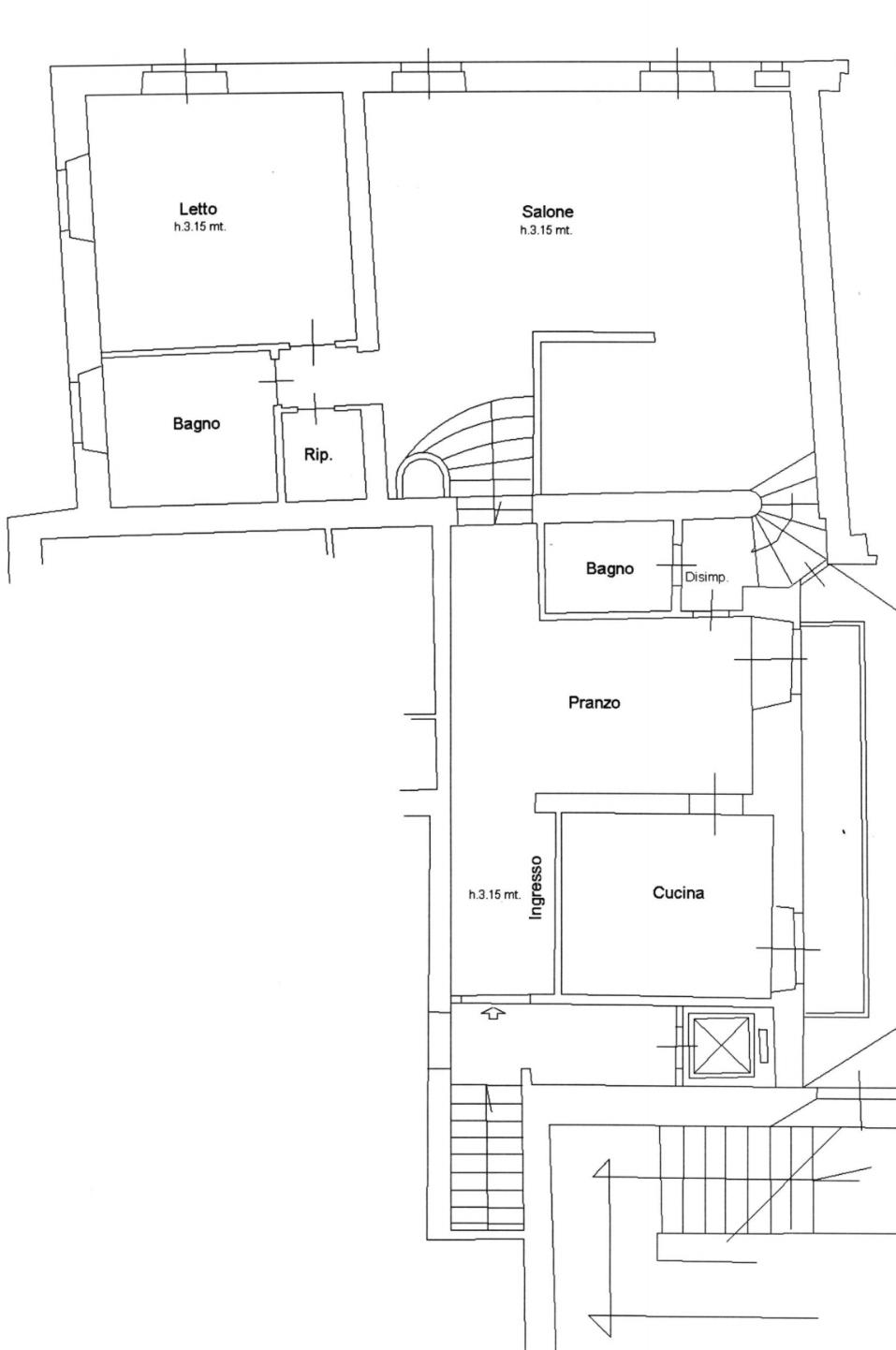 Appartamento in Vendita a Roma: 4 locali, 127 mq - Foto 19