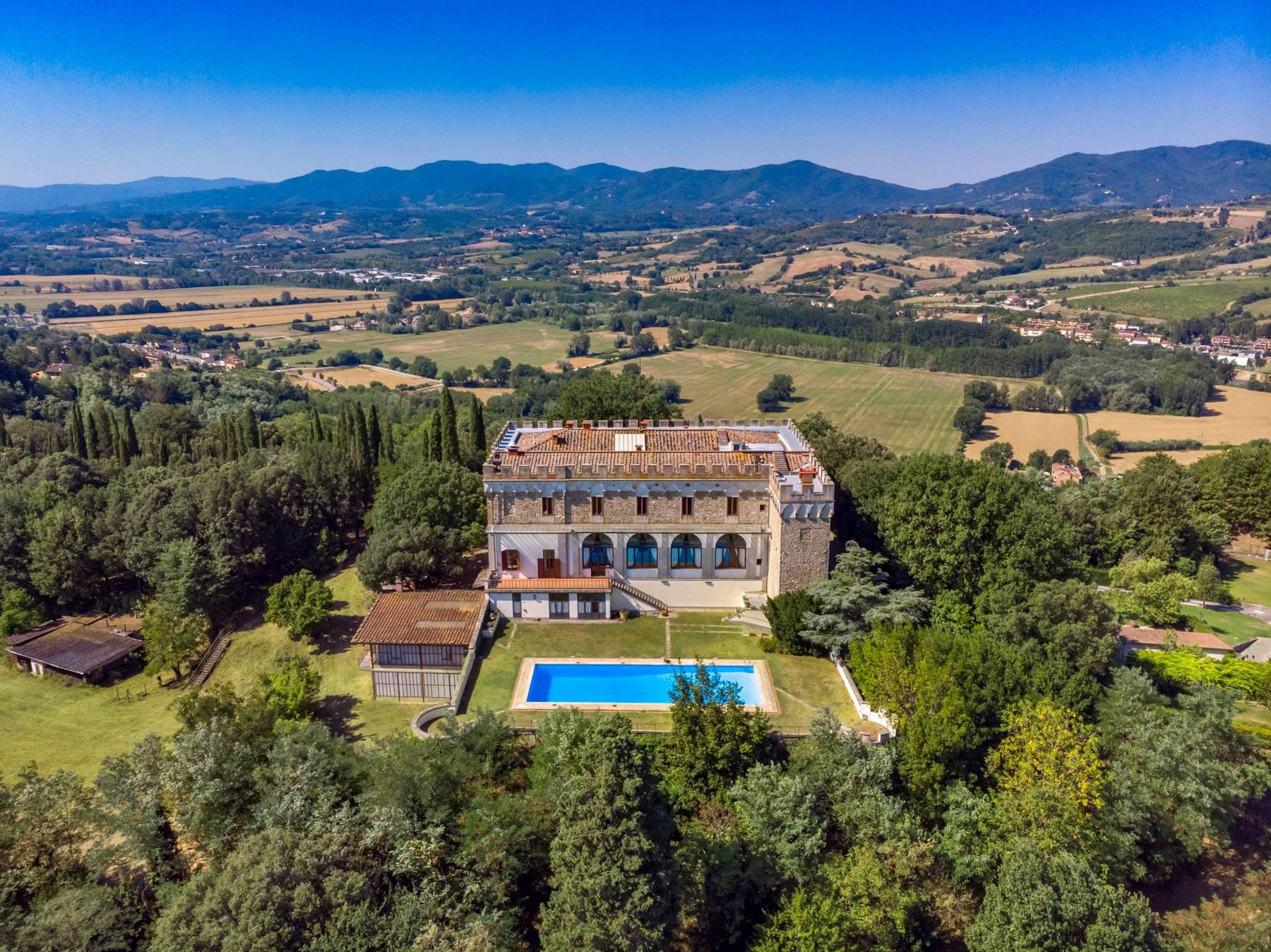 Villa in Vendita a Reggello: 5 locali, 2450 mq - Foto 28
