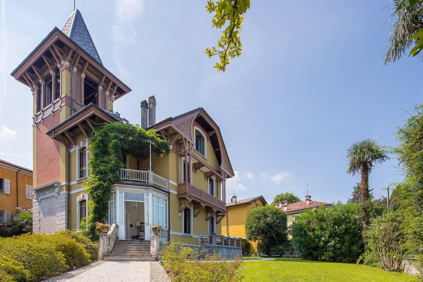 Villa in Affitto a Porto Valtravaglia: 5 locali, 400 mq - Foto 7