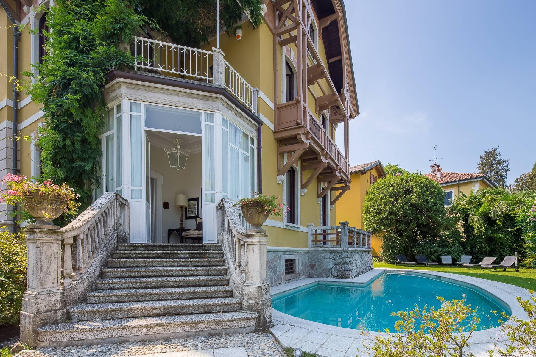Villa in Affitto a Porto Valtravaglia: 5 locali, 400 mq - Foto 9