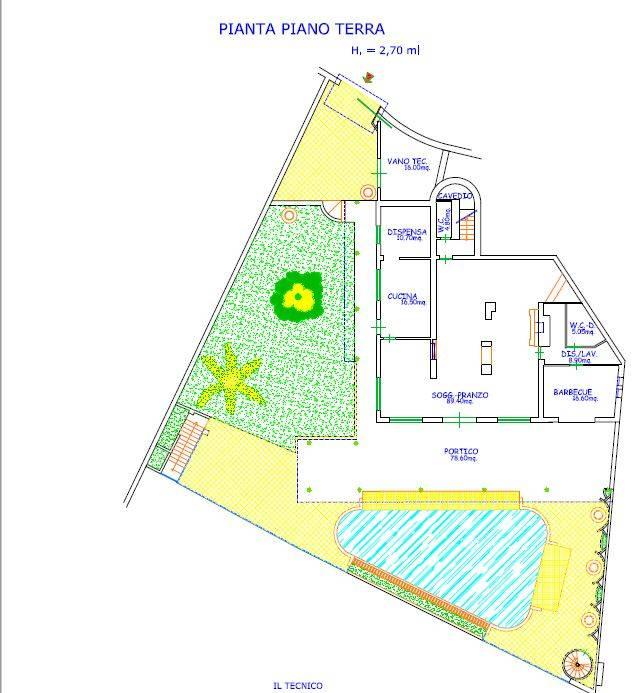 Villa in Vendita a Taormina: 5 locali, 387 mq - Foto 20