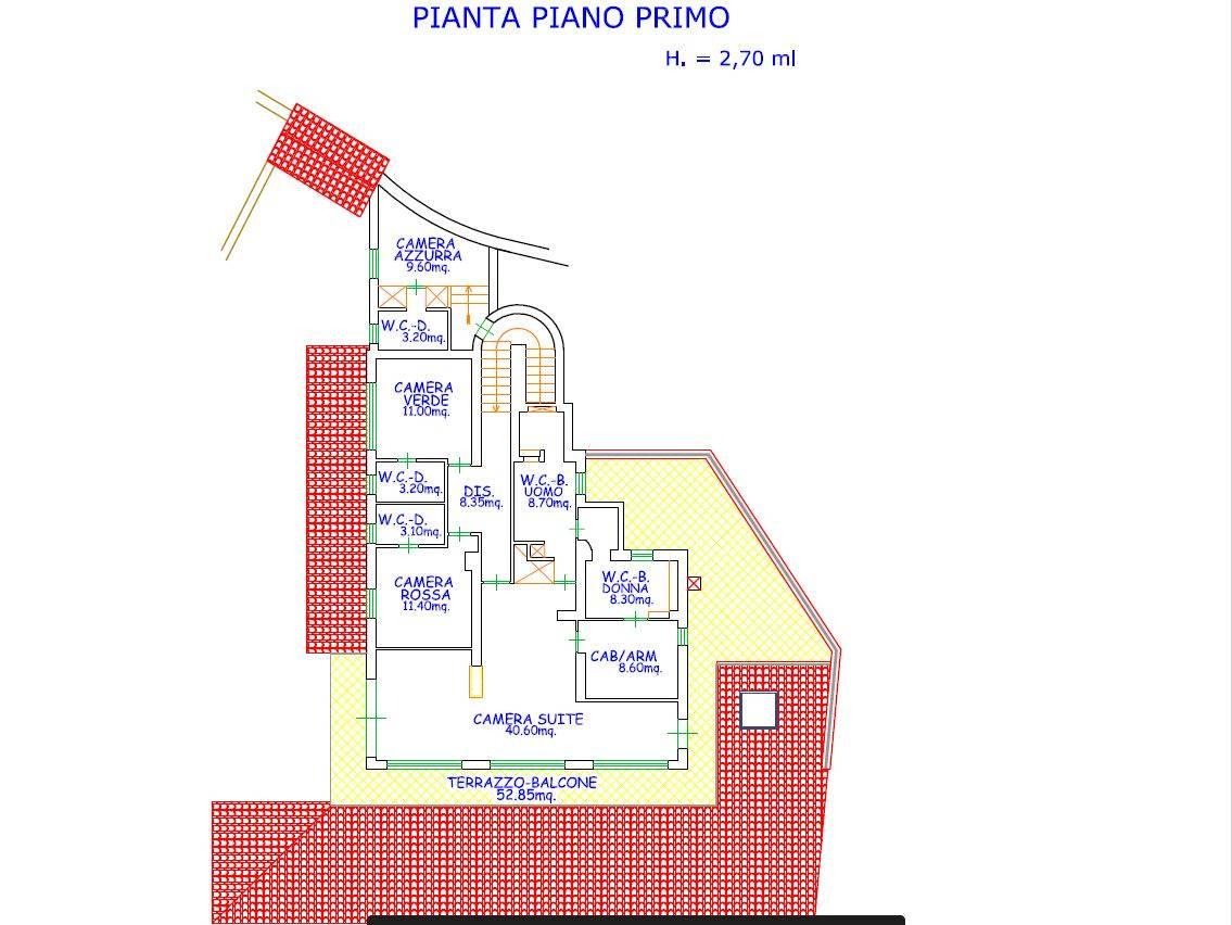 Villa in Vendita a Taormina: 5 locali, 387 mq - Foto 22