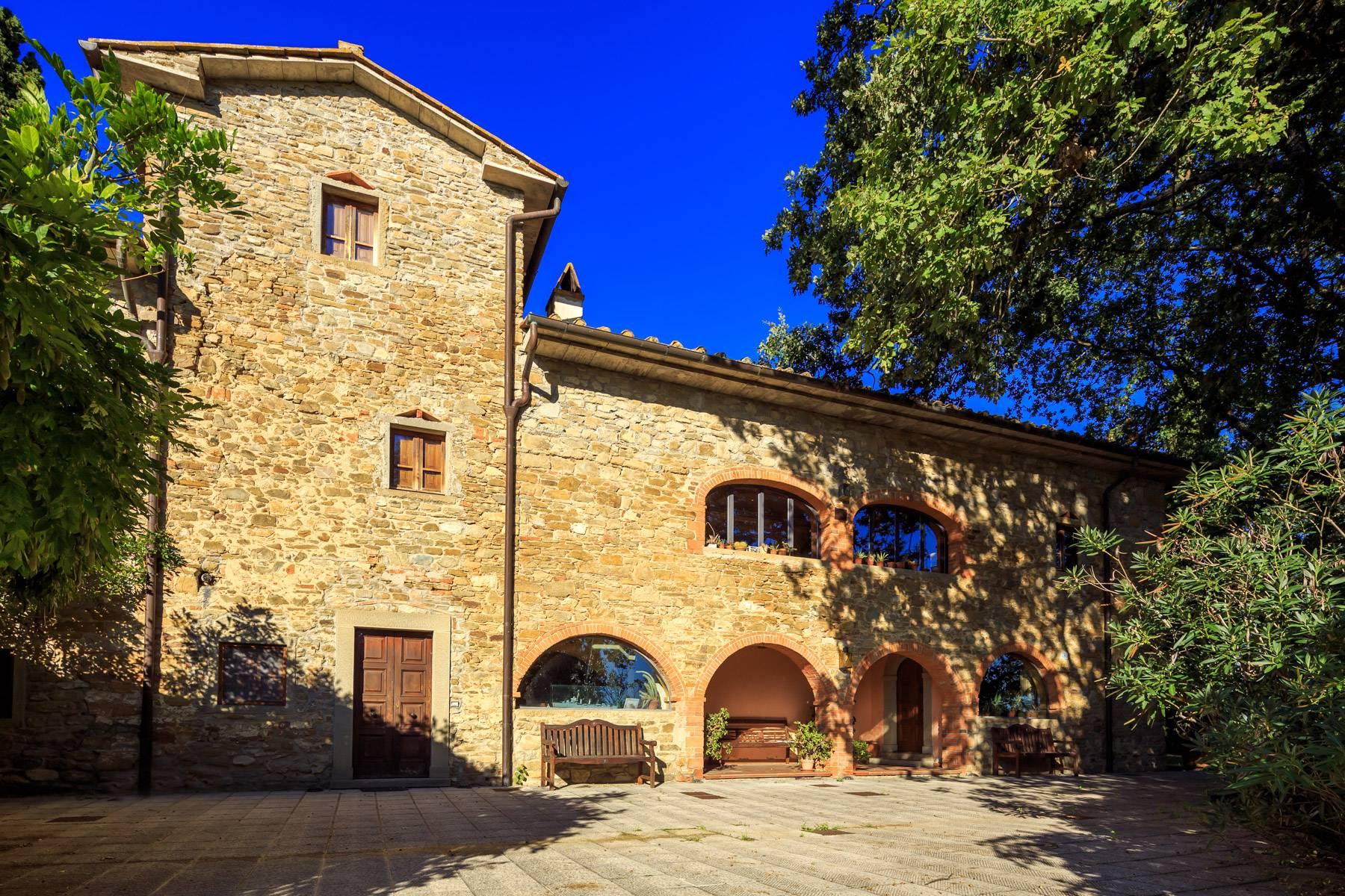 Villa in Vendita a Castiglion Fibocchi: 5 locali, 600 mq - Foto 2