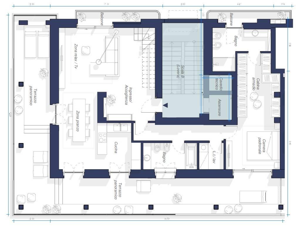 Appartamento in Vendita a Torino: 5 locali, 246 mq - Foto 20