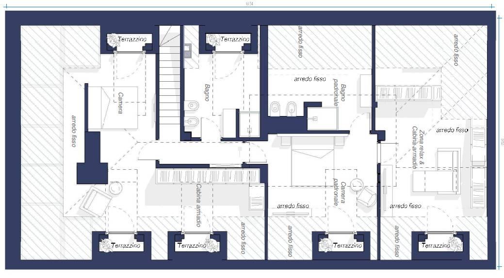 Appartamento in Vendita a Torino: 5 locali, 246 mq - Foto 19