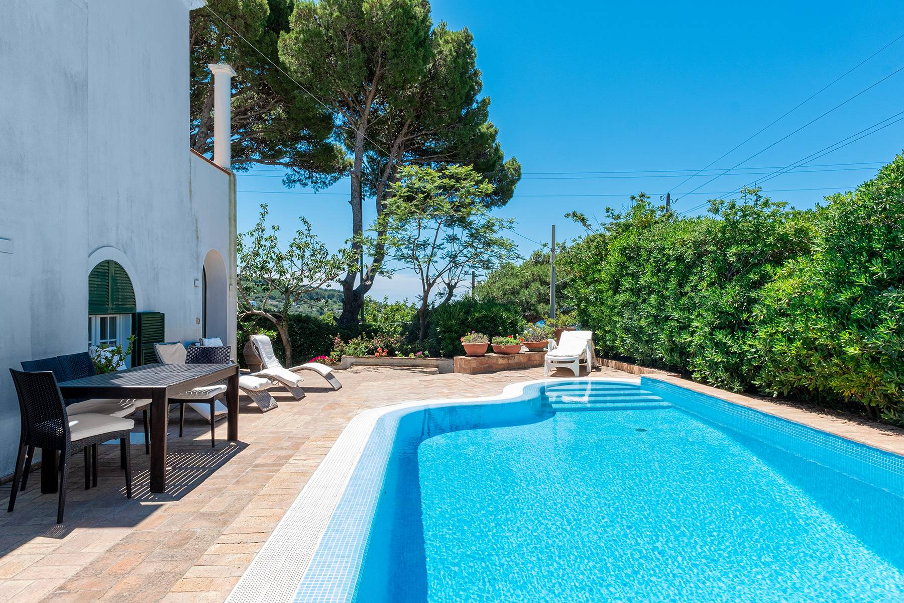 Villa in Affitto a Anacapri via monticello