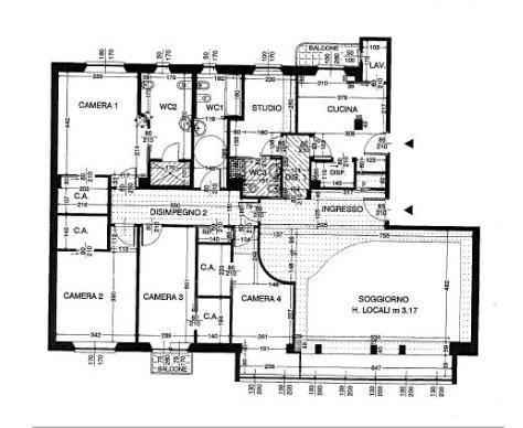 Appartamento in Vendita a Milano: 5 locali, 240 mq - Foto 27