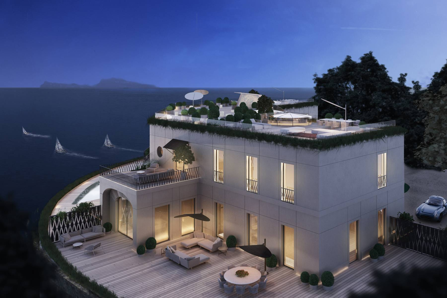 Villa in Vendita a Napoli: 5 locali, 450 mq - Foto 1