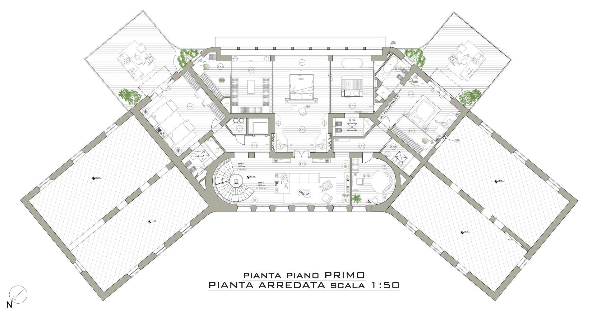 Villa in Vendita a Napoli: 5 locali, 840 mq - Foto 19