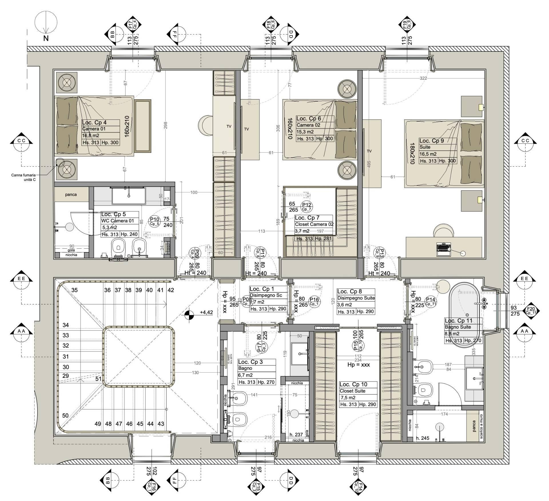 Villa in Vendita a Napoli: 5 locali, 360 mq - Foto 14