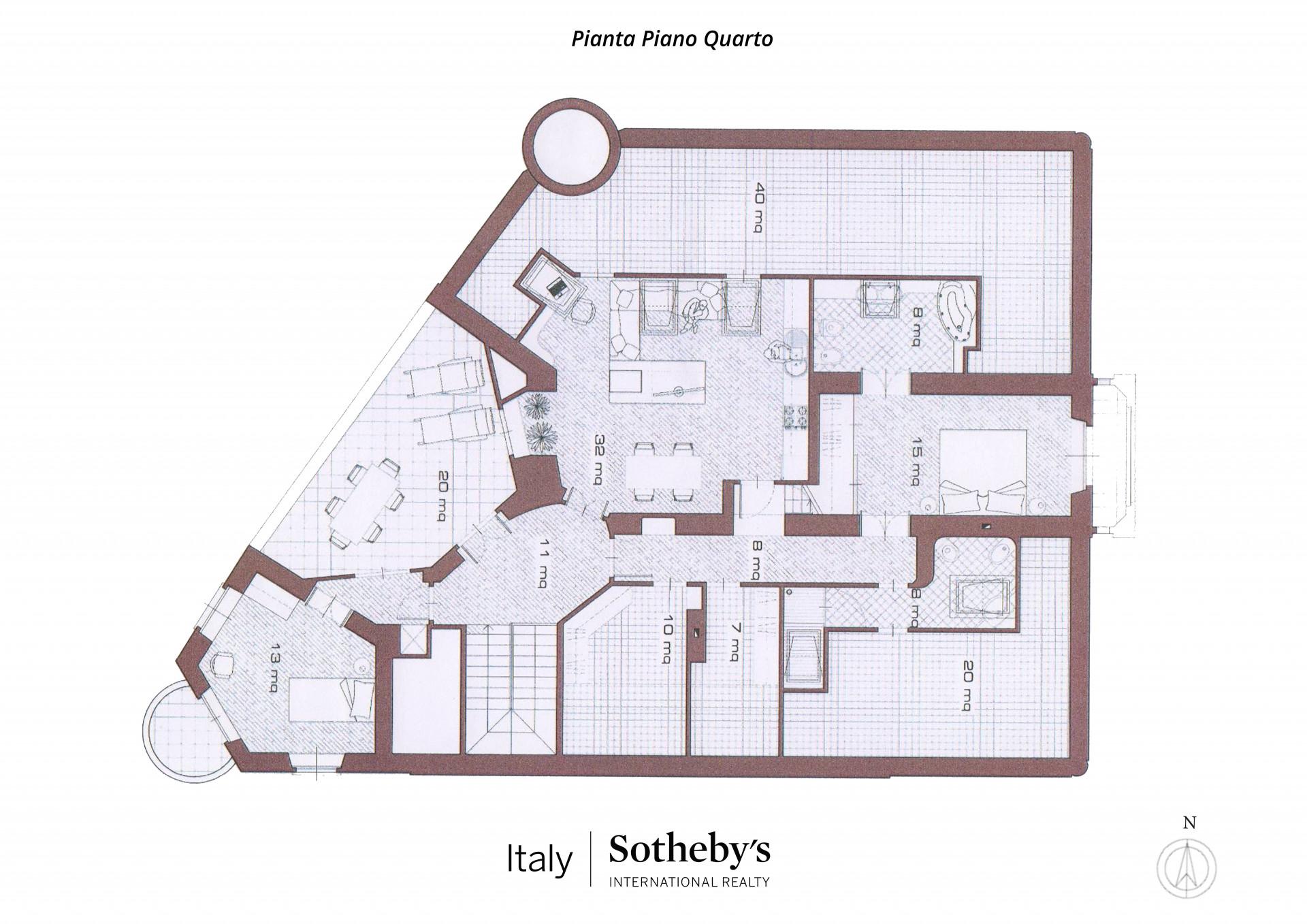 Appartamento in Vendita a Torino: 5 locali, 160 mq - Foto 21