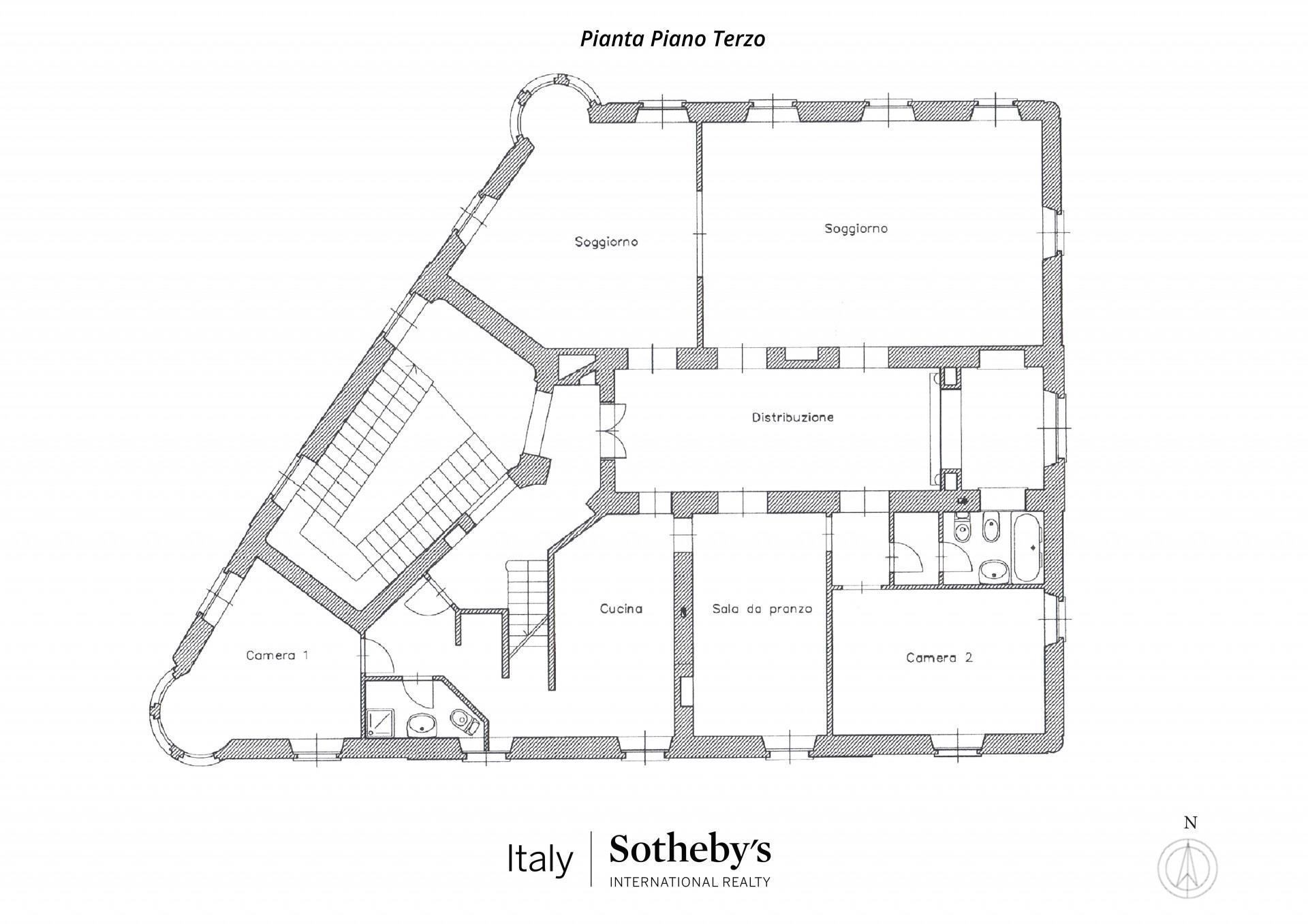 Appartamento in Vendita a Torino: 5 locali, 210 mq - Foto 15