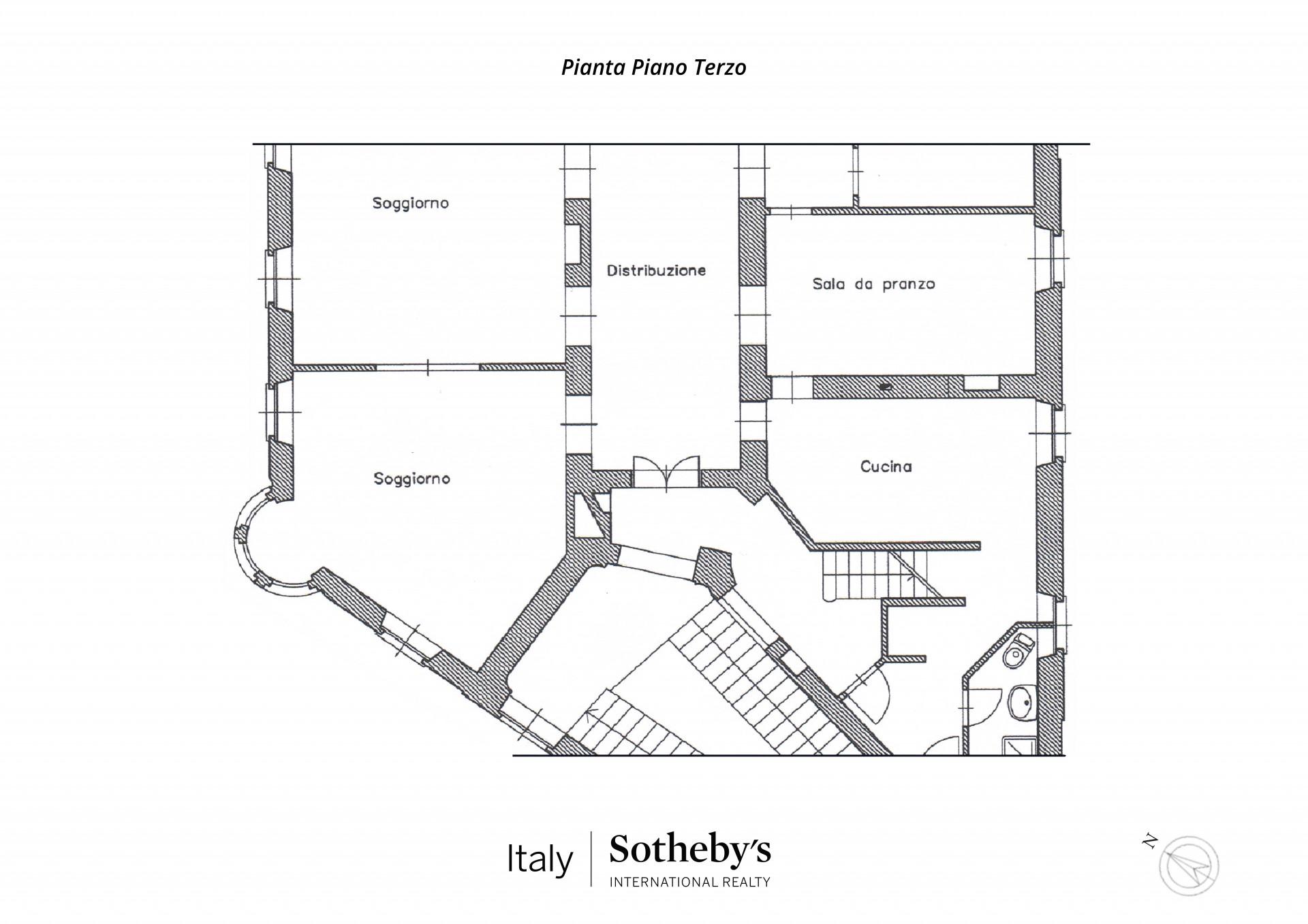 Appartamento in Vendita a Torino: 5 locali, 359 mq - Foto 20