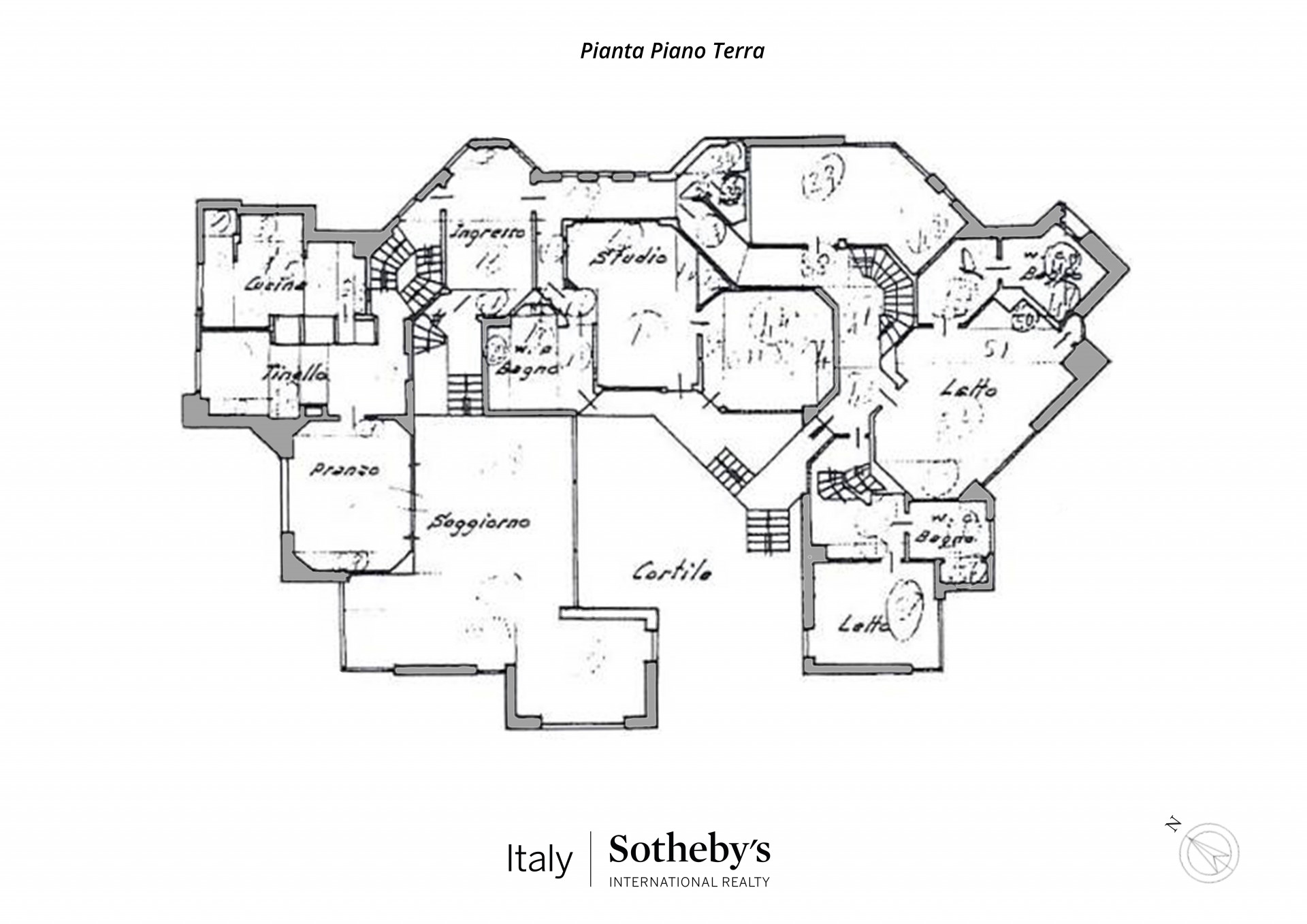 Villa in Vendita a Torino: 5 locali, 730 mq - Foto 24