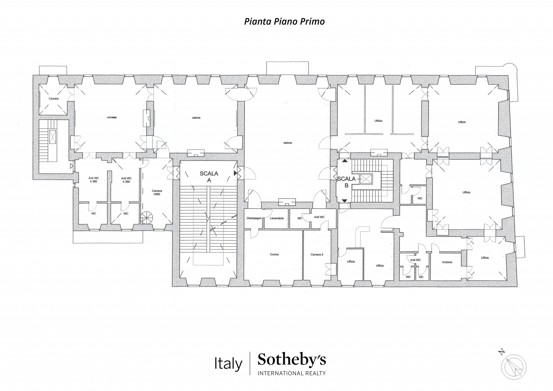 Appartamento in Vendita a Torino: 5 locali, 950 mq - Foto 27