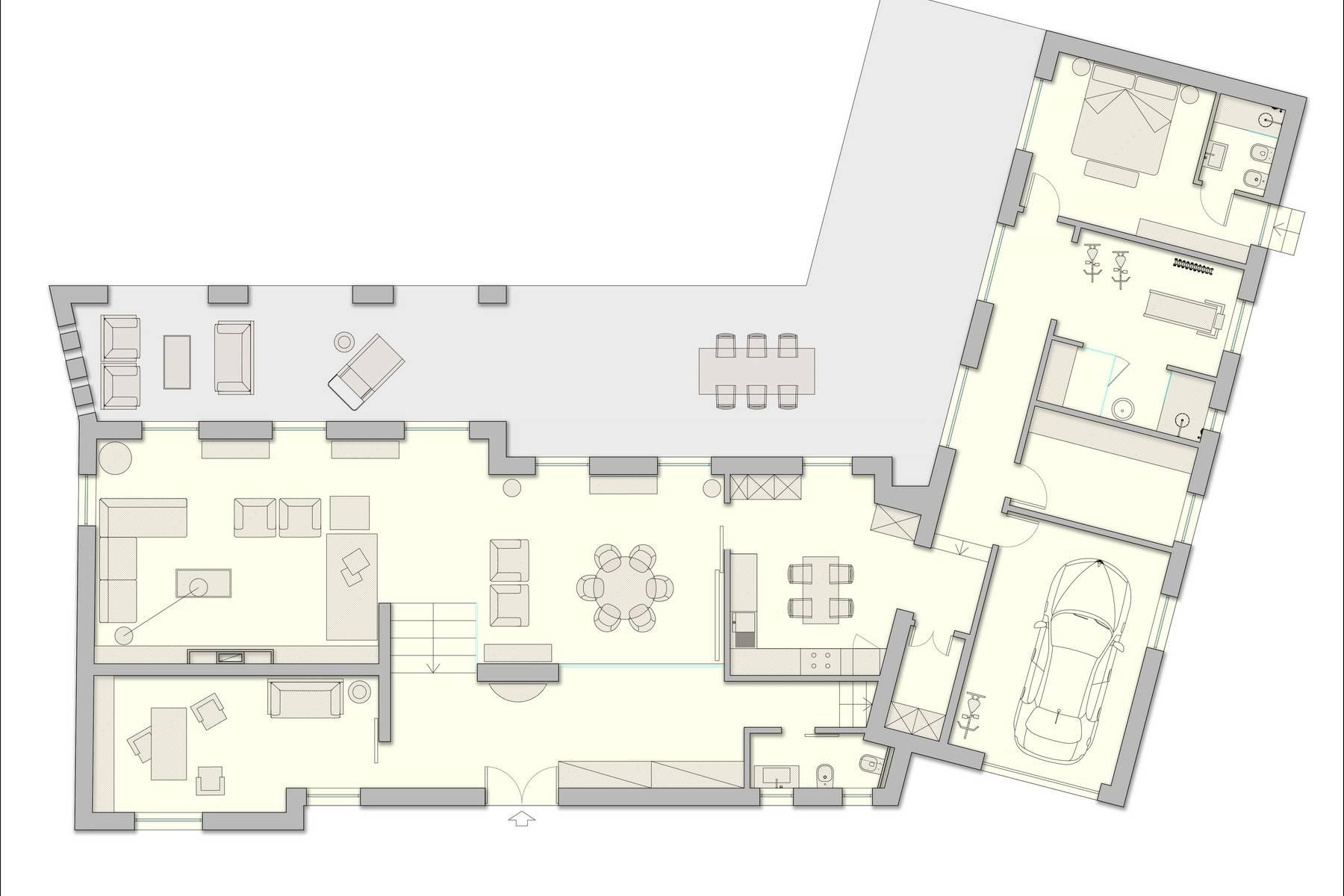 Casa indipendente in Vendita a Greve In Chianti: 5 locali, 450 mq - Foto 18