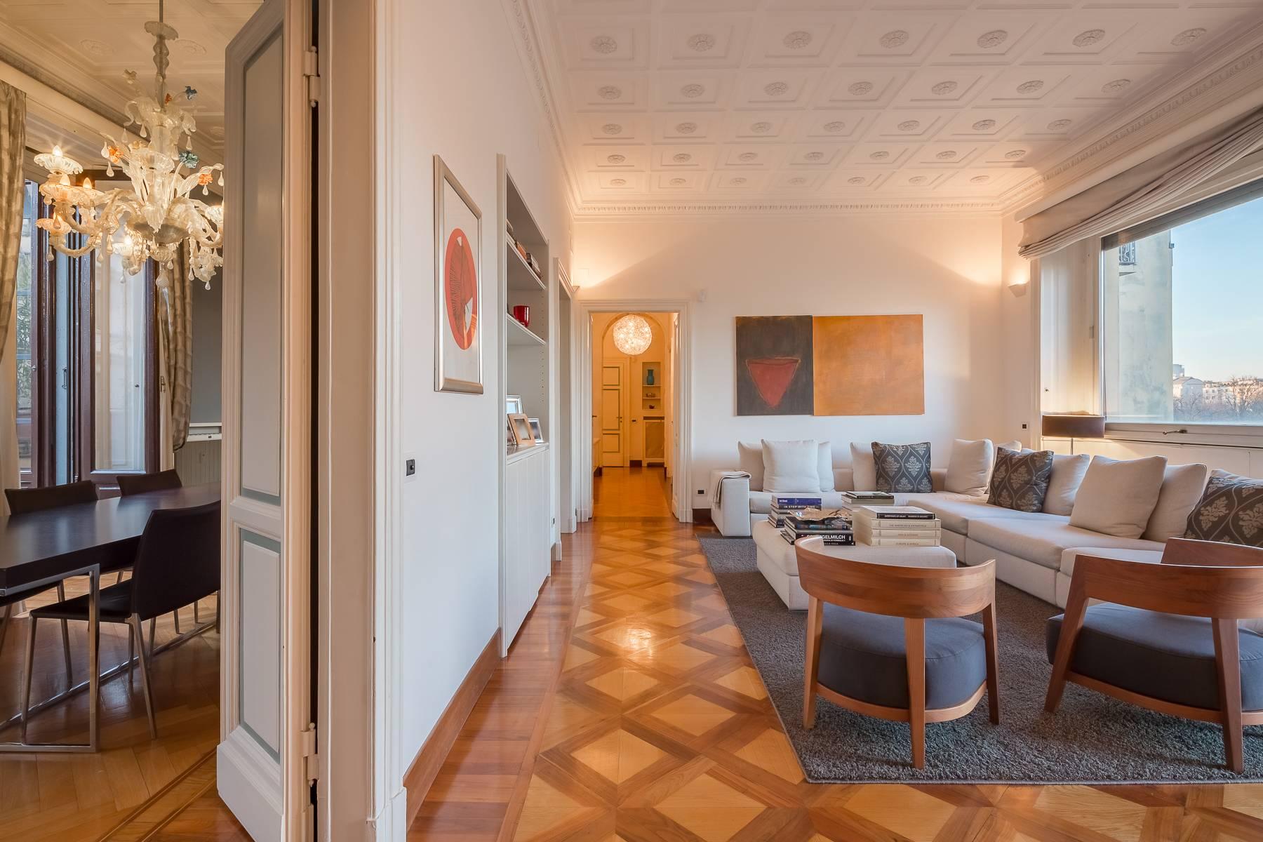 Appartamento in Affitto a Milano: 5 locali, 250 mq - Foto 4