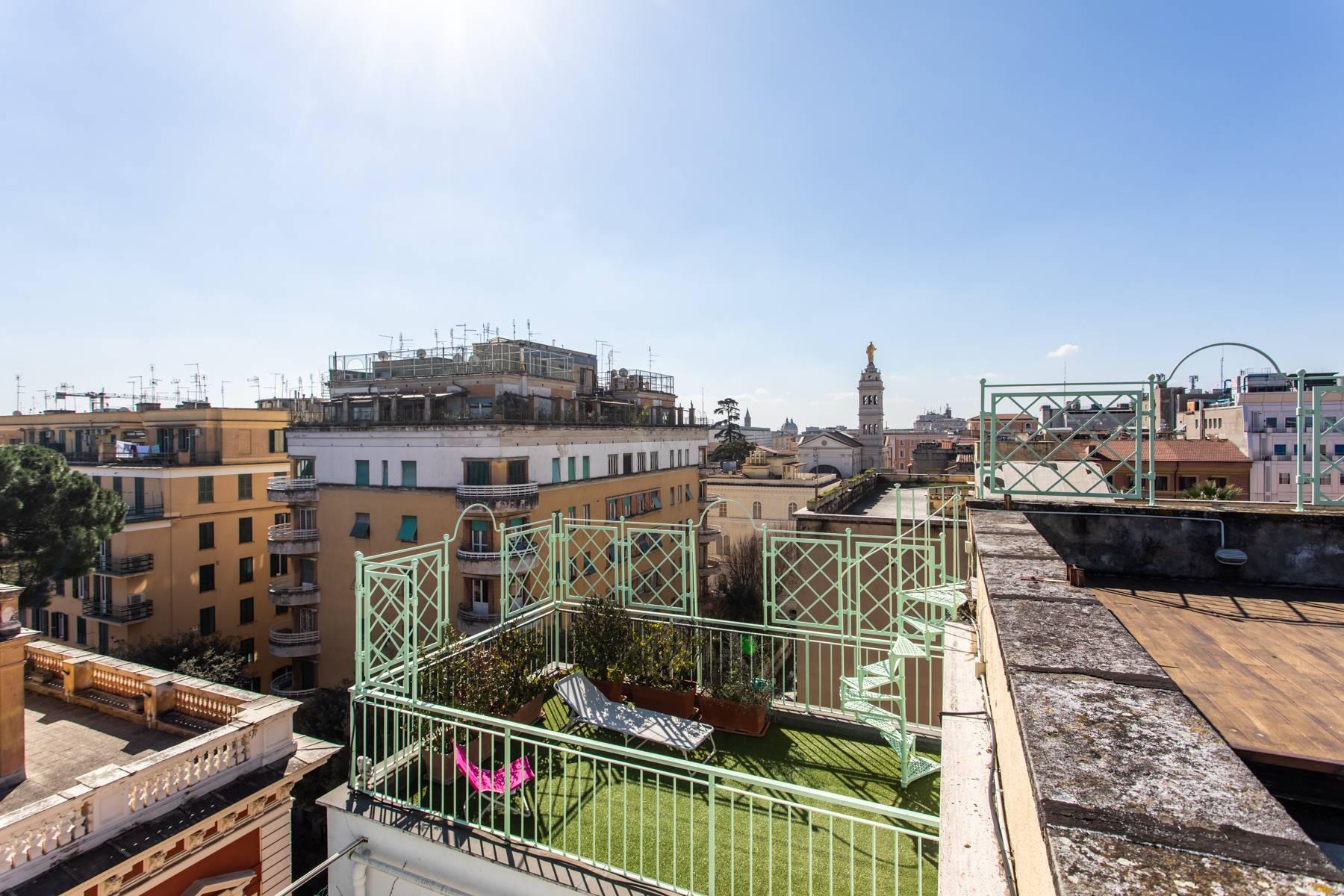 Attico in Affitto a Roma: 3 locali, 50 mq - Foto 12