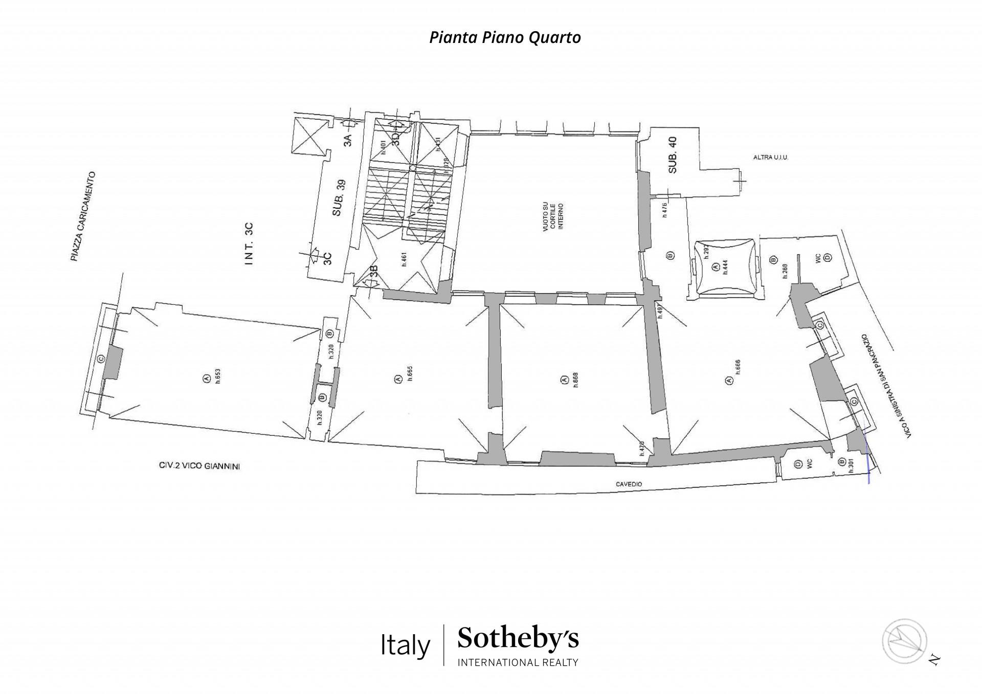 Appartamento in Vendita a Genova: 5 locali, 360 mq - Foto 24